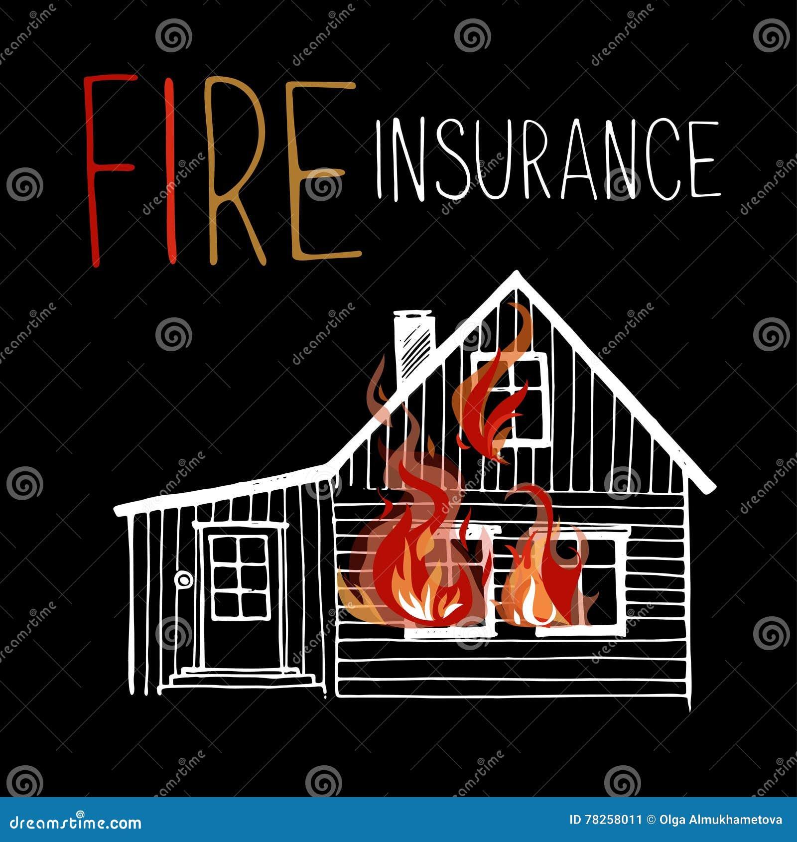 Το καίγοντας σπίτι, πυρκαγιά από τα παράθυρα