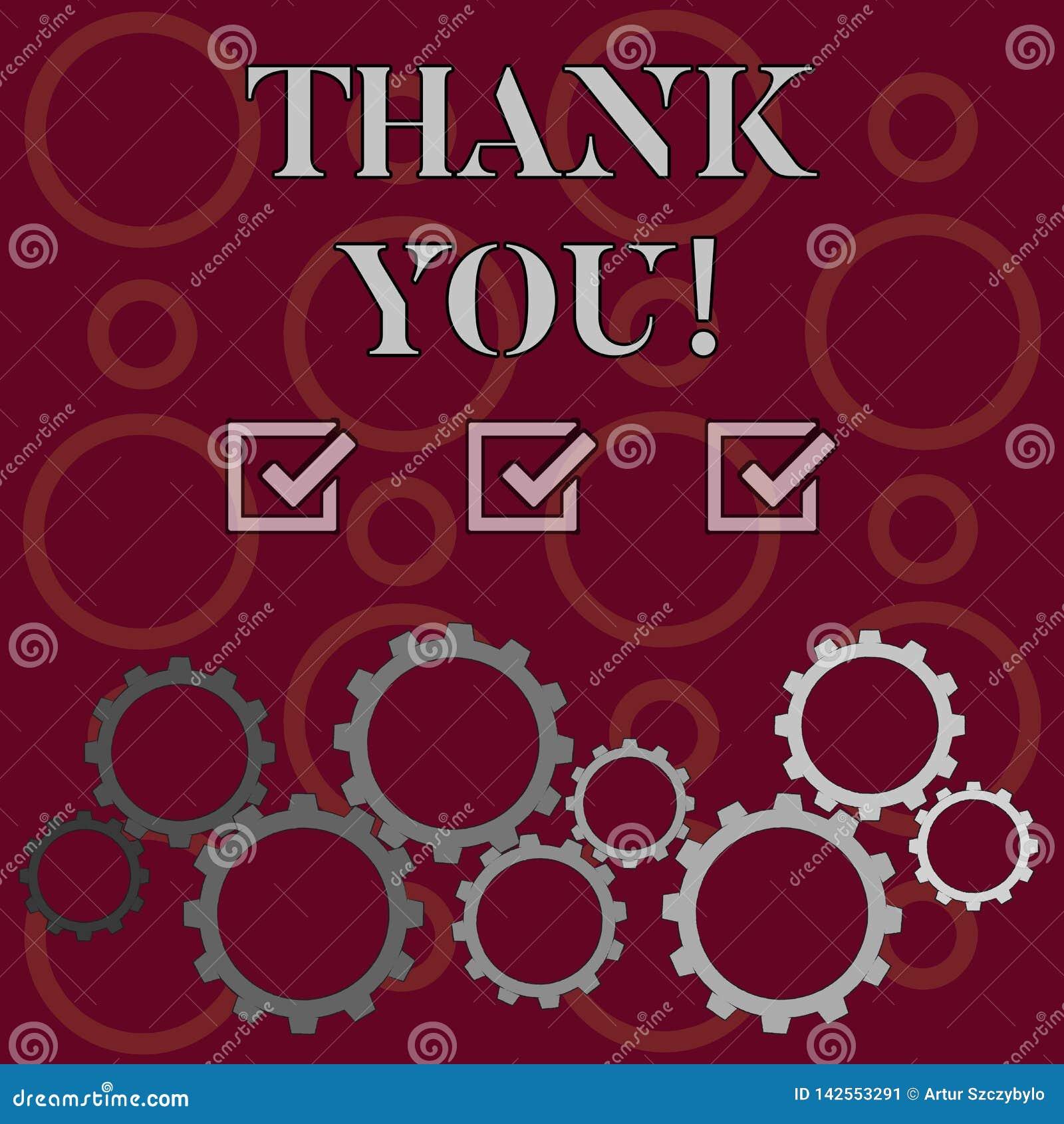 Το κείμενο γραψίματος λέξης σας ευχαριστεί Η επιχειρησιακή έννοια για την ευγενική έκφραση χρησιμοποίησε κατά την αναγνώριση της