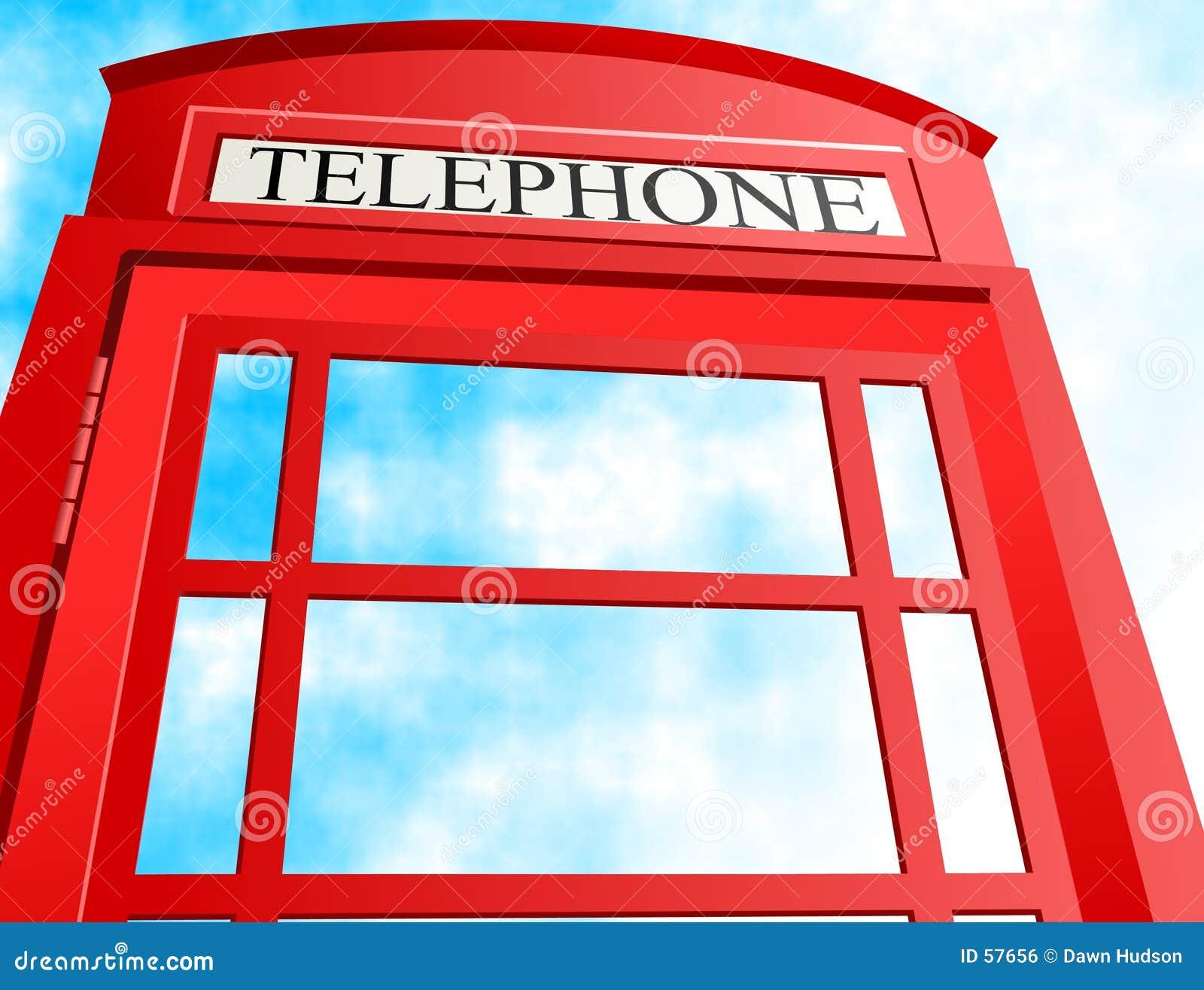 το κιβώτιο Βρετανοί τηλεφωνά