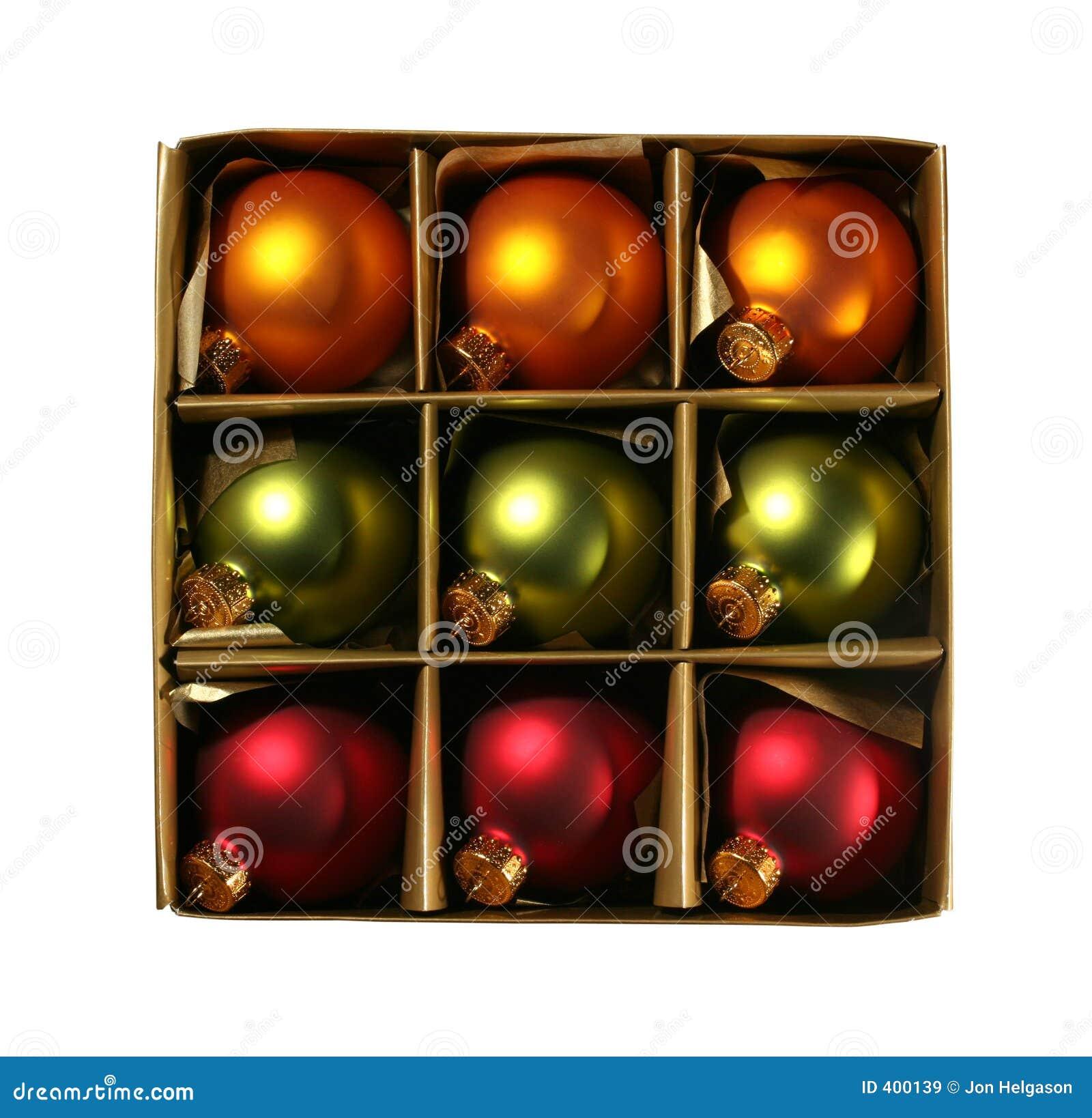 το κιβώτιο διακοσμεί τα Χριστούγεννα μονοπατιών