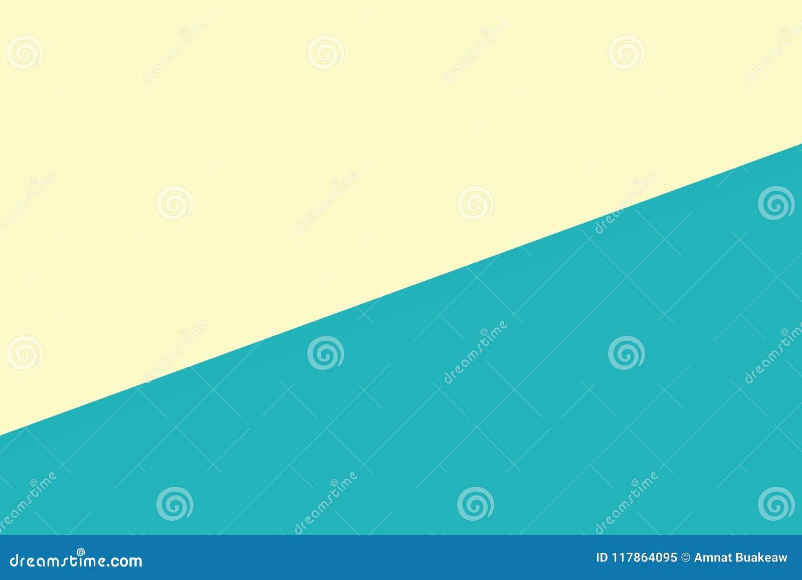 Το κιτρινοπράσινο υπόβαθρο κρητιδογραφιών εγγράφου δύο χρώματος μαλακό, ελάχιστο επίπεδο βάζει το ύφος για τη μοντέρνη τοπ άποψη