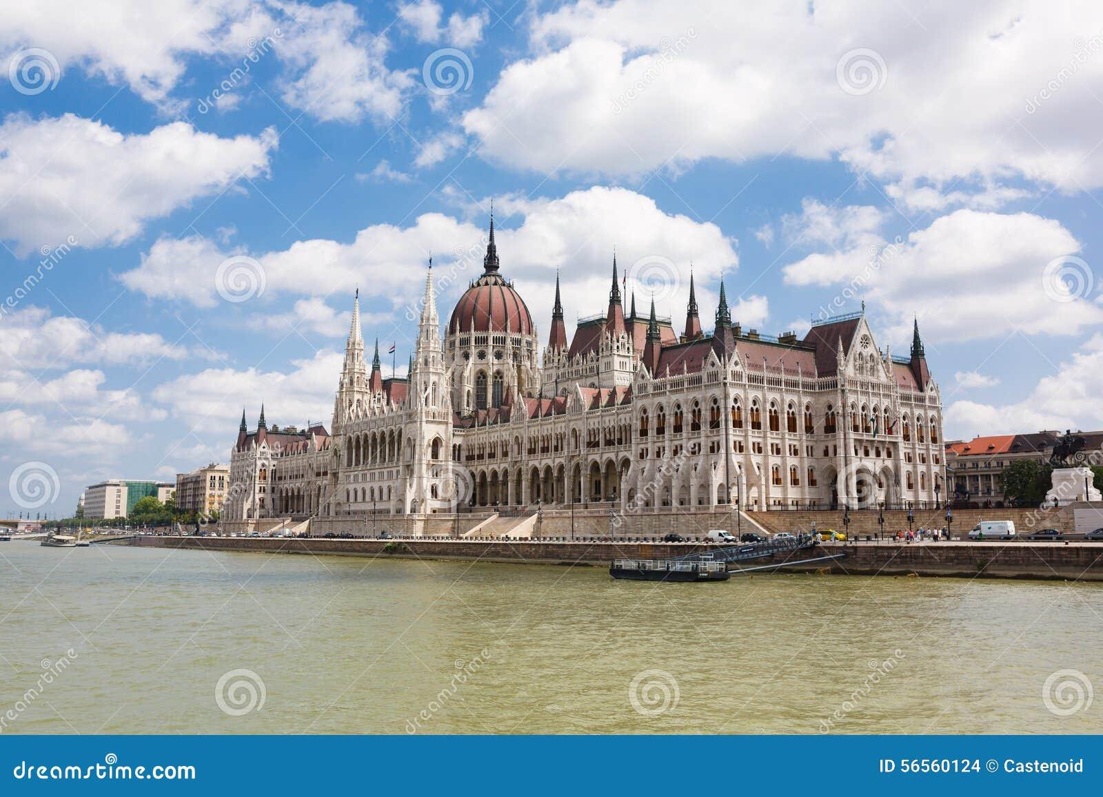 Download το Κοινοβούλιο της Βουδαπέστης Στοκ Εικόνες - εικόνα από πόλη, μέτωπο: 56560124