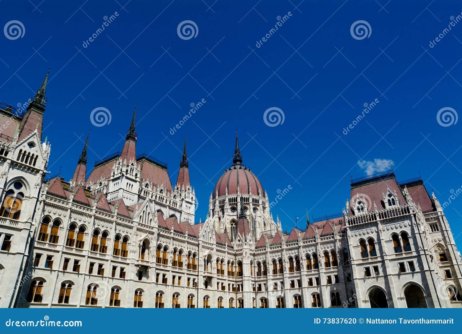 Το Κοινοβούλιο της Ουγγαρίας στη Βουδαπέστη