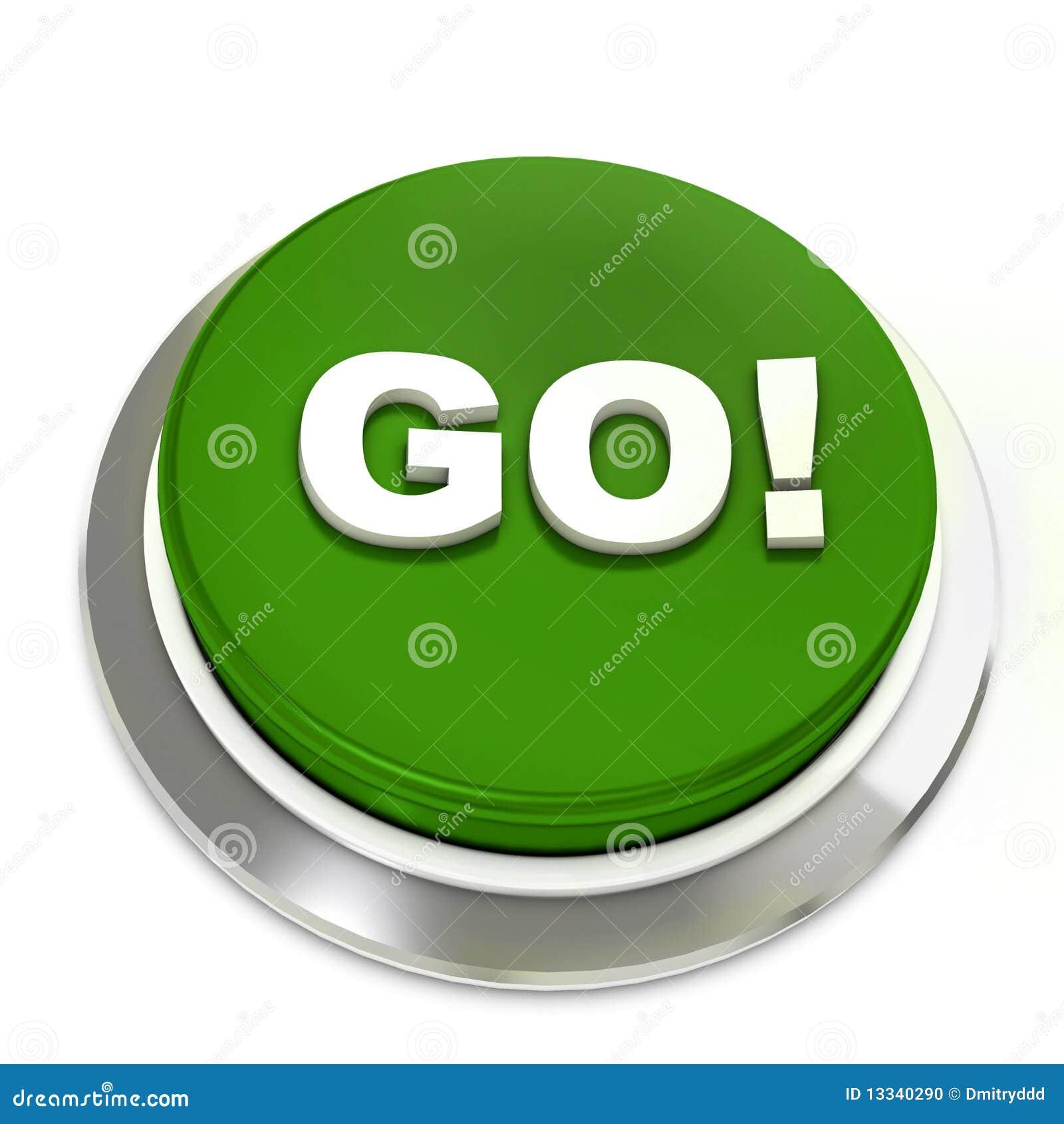 το κουμπί πηγαίνει πράσιν&omicron