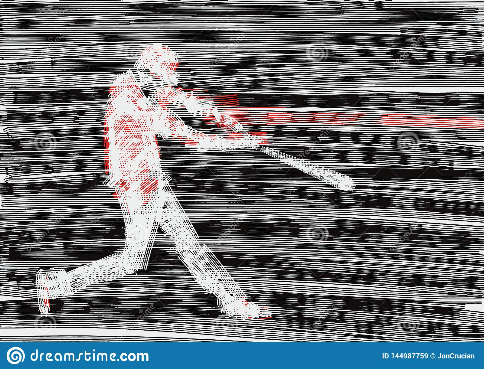 Το κτύπημα μπέιζ-μπώλ χτυπά τη σφαίρα Επίδραση δυσλειτουργίας ή θορύβου