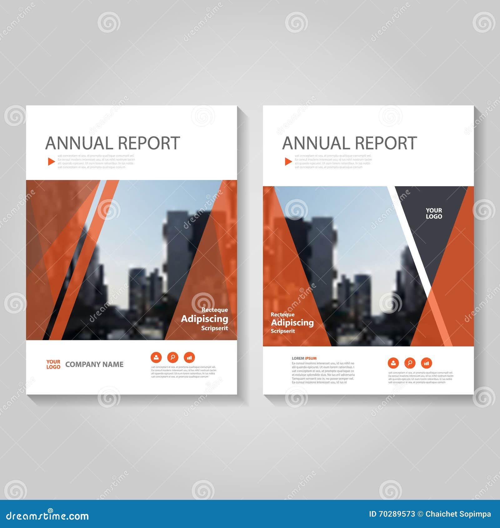 Το κόκκινο διανυσματικό σχέδιο προτύπων ιπτάμενων φυλλάδιων φυλλάδιων ετήσια εκθέσεων, σχέδιο σχεδιαγράμματος κάλυψης βιβλίων, αφ