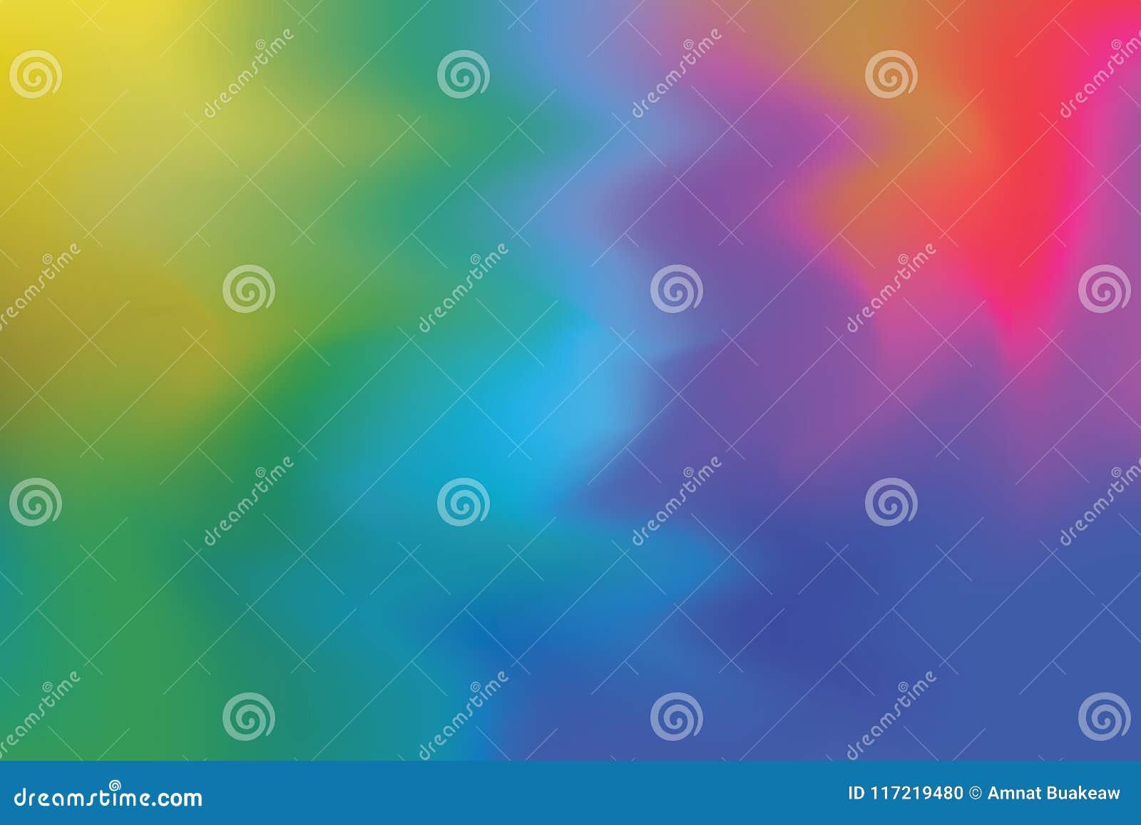 Το κόκκινο πράσινο κίτρινο μπλε μαλακό χρώμα ανάμιξε την αφηρημένη, ζωηρόχρωμη ταπετσαρία τέχνης κρητιδογραφιών τέχνης ζωγραφικής