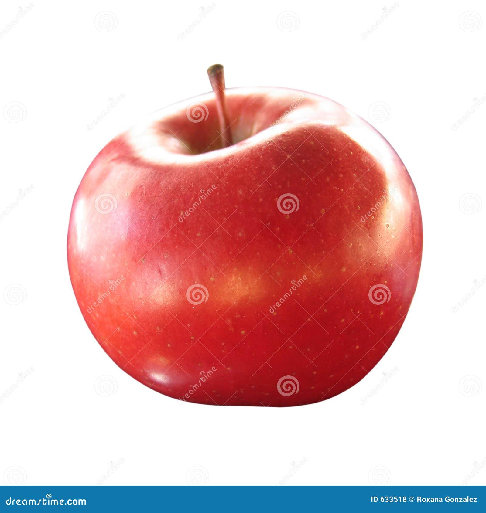 το μήλο απομόνωσε το κόκκινο