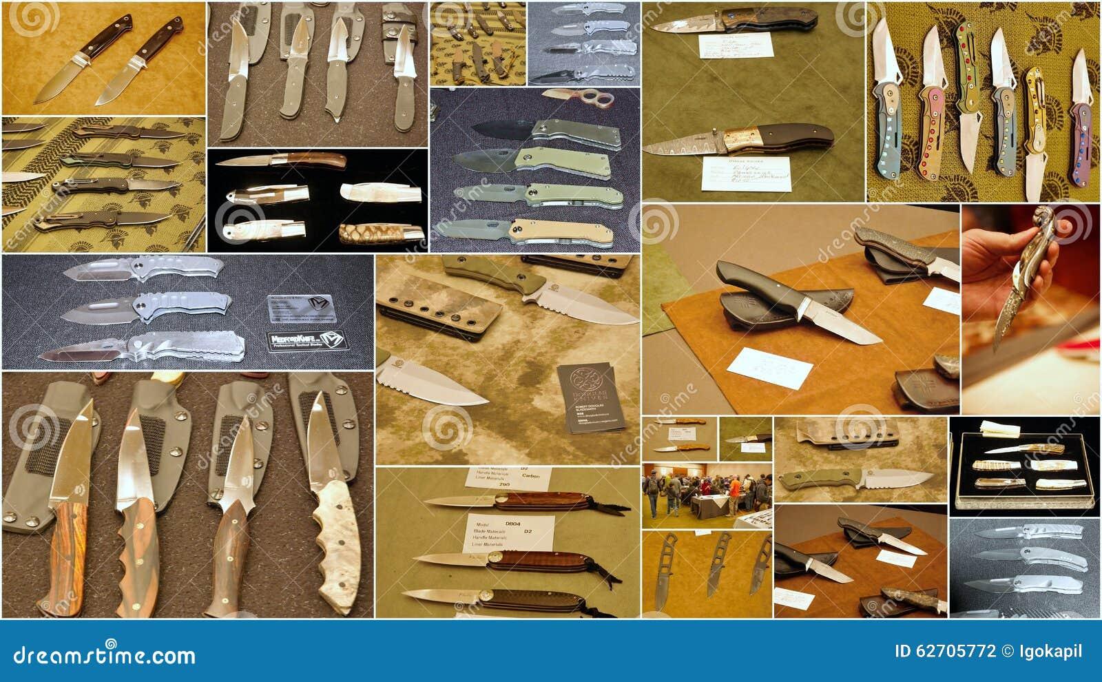 Το μαχαίρι συνήθειας παρουσιάζει 2015 στην πόλη ΗΠΑ του Τζέρσεϋ