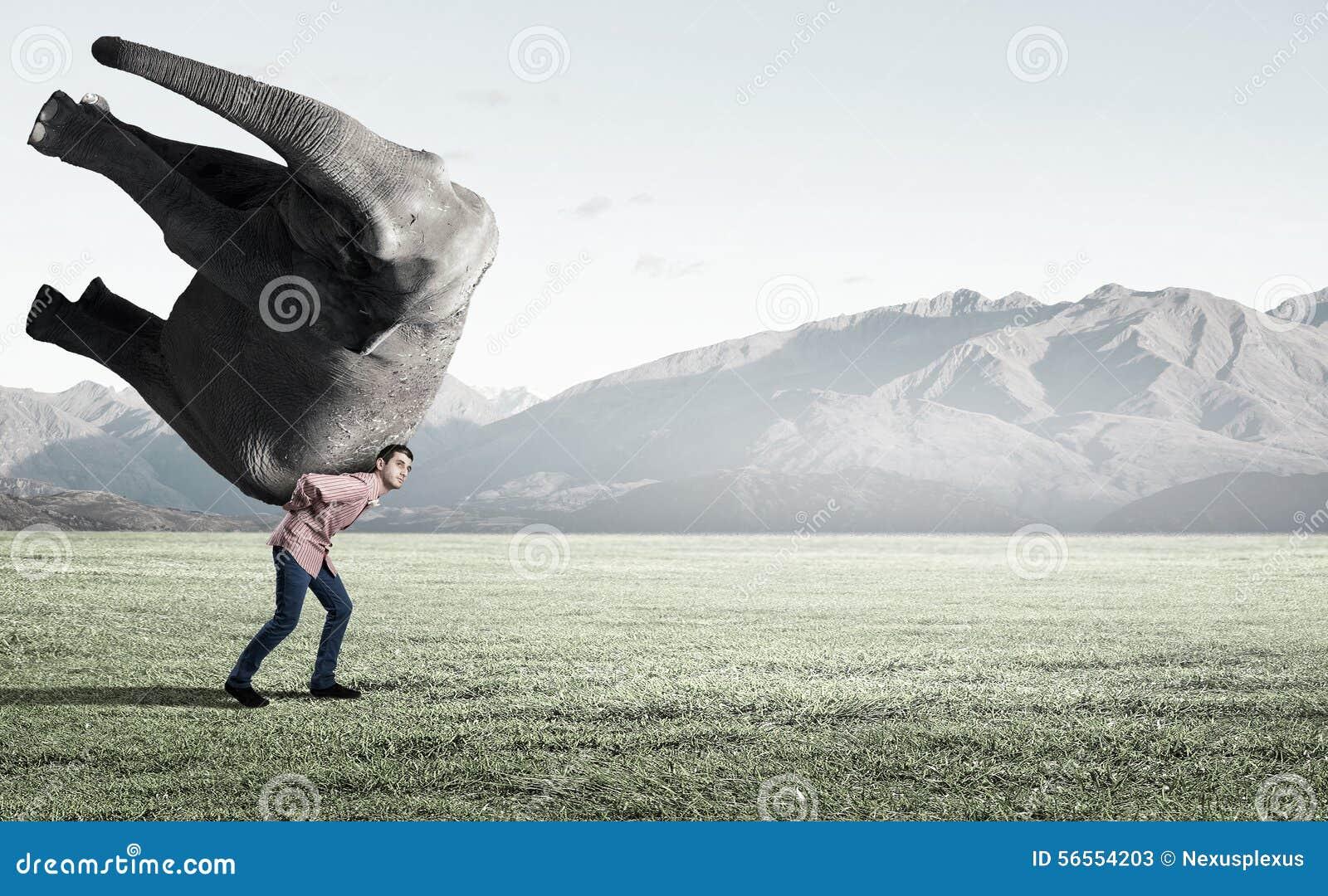 Download Το μεγάλο βάρος δεν είναι πρόβλημα Στοκ Εικόνα - εικόνα από μεγάλη, αρσενικό: 56554203