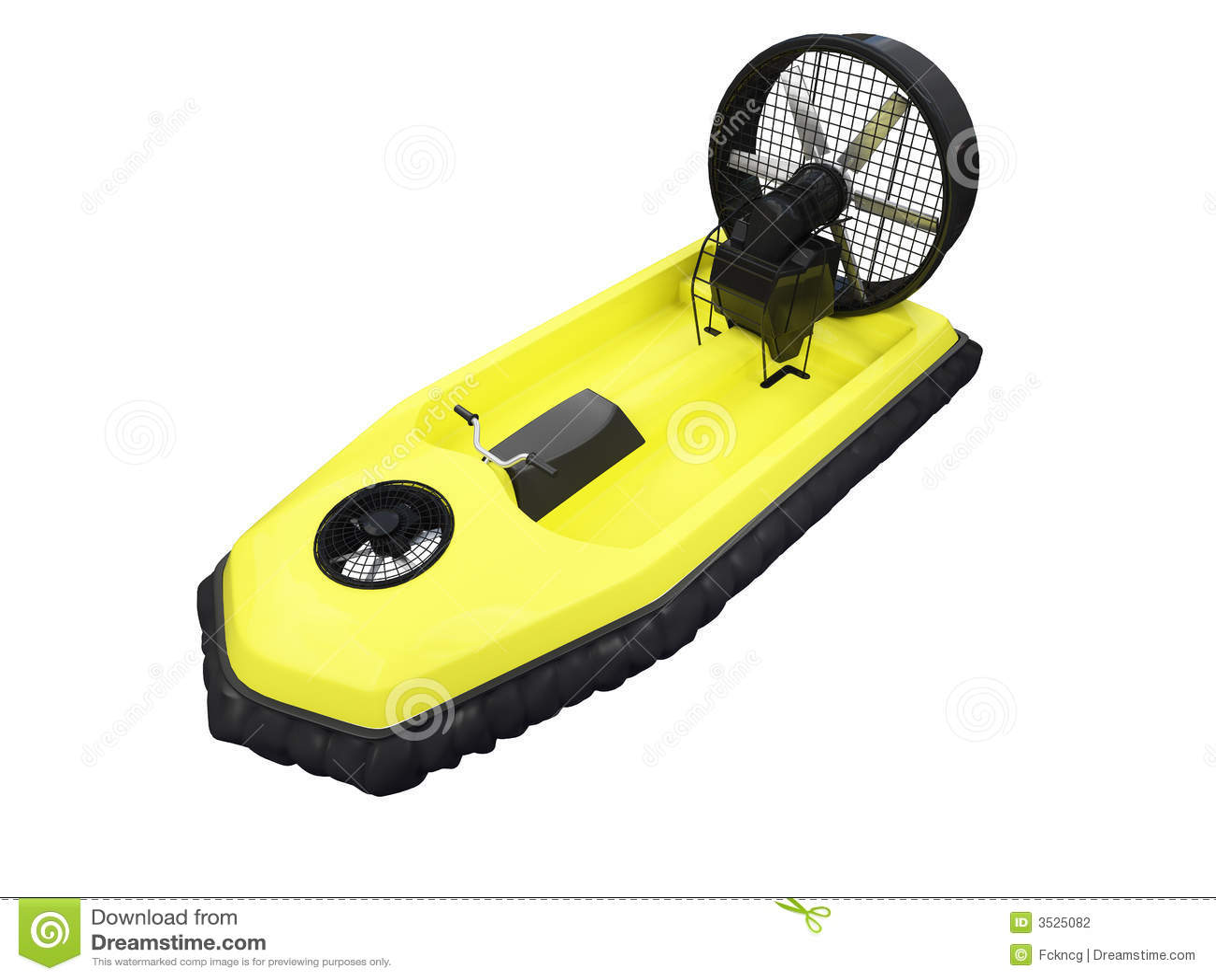 το μπροστινό hcraft απομόνωσε κίτρινο