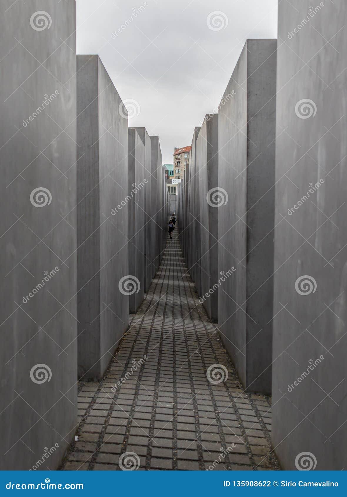 Το ολοκαύτωμα αναμνηστικό Βερολίνο Γερμανία
