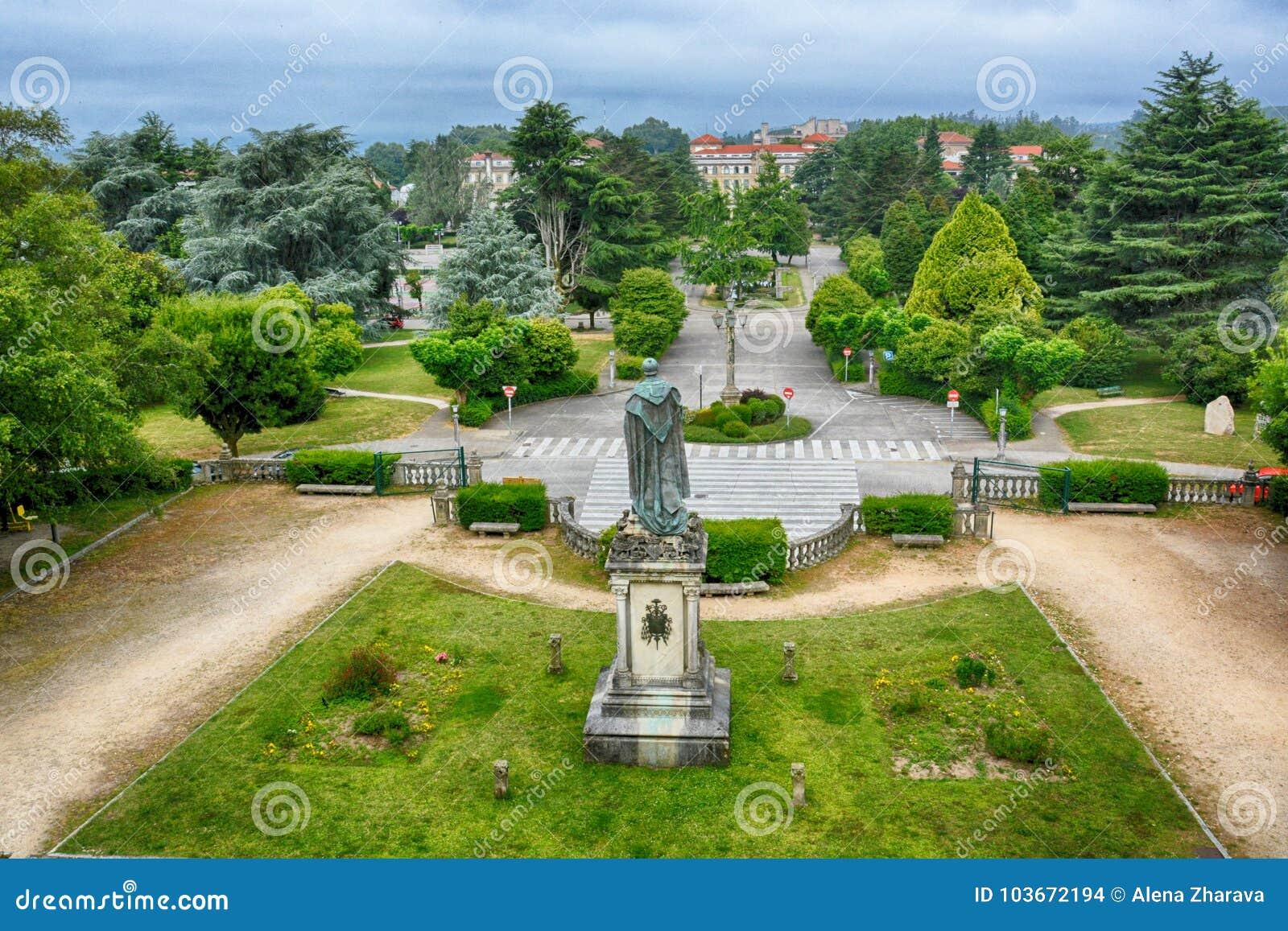 Το πάρκο, Σαντιάγο de Compostela