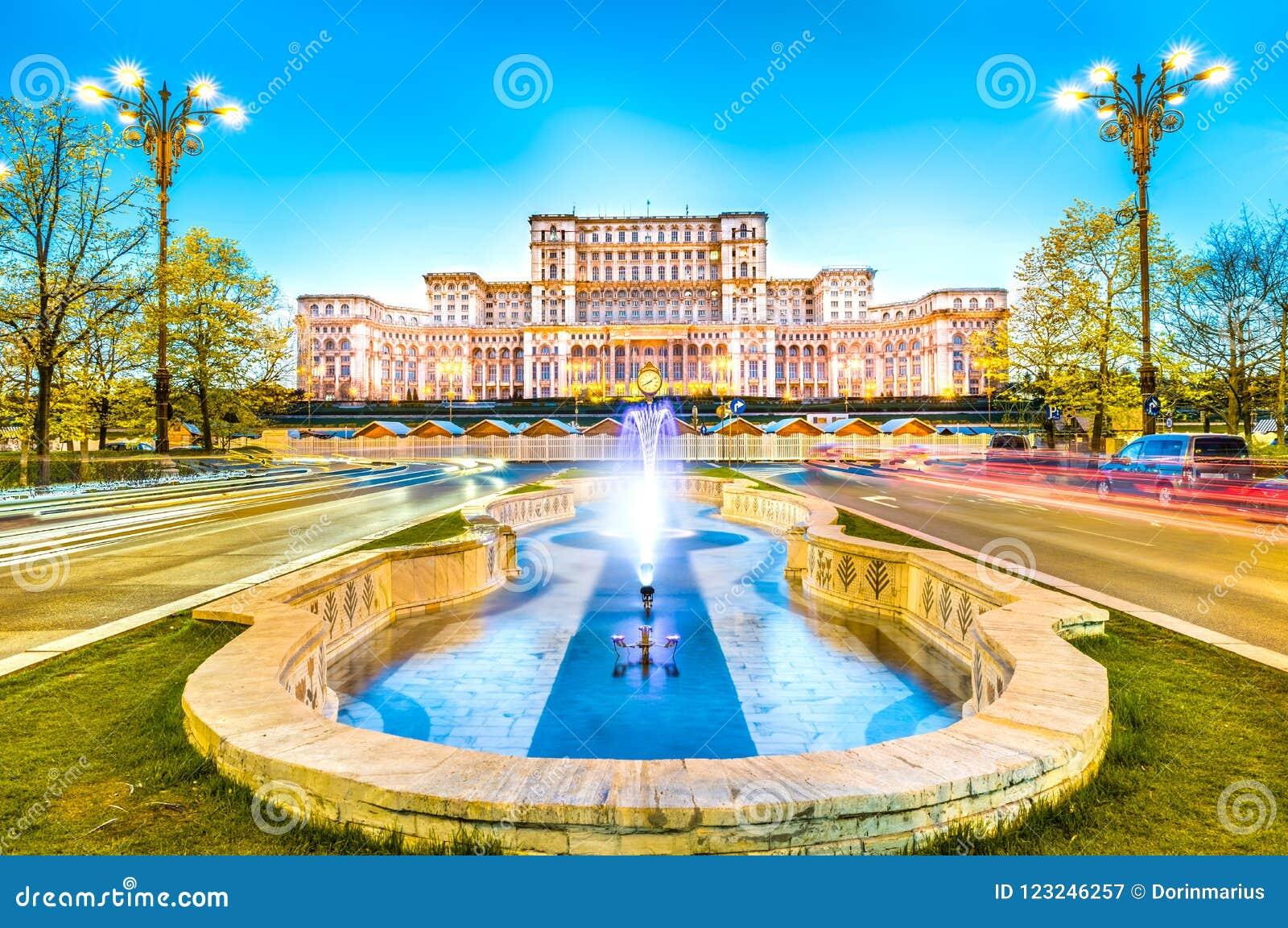 Το παλάτι του Κοινοβουλίου, Βουκουρέστι, Ρουμανία