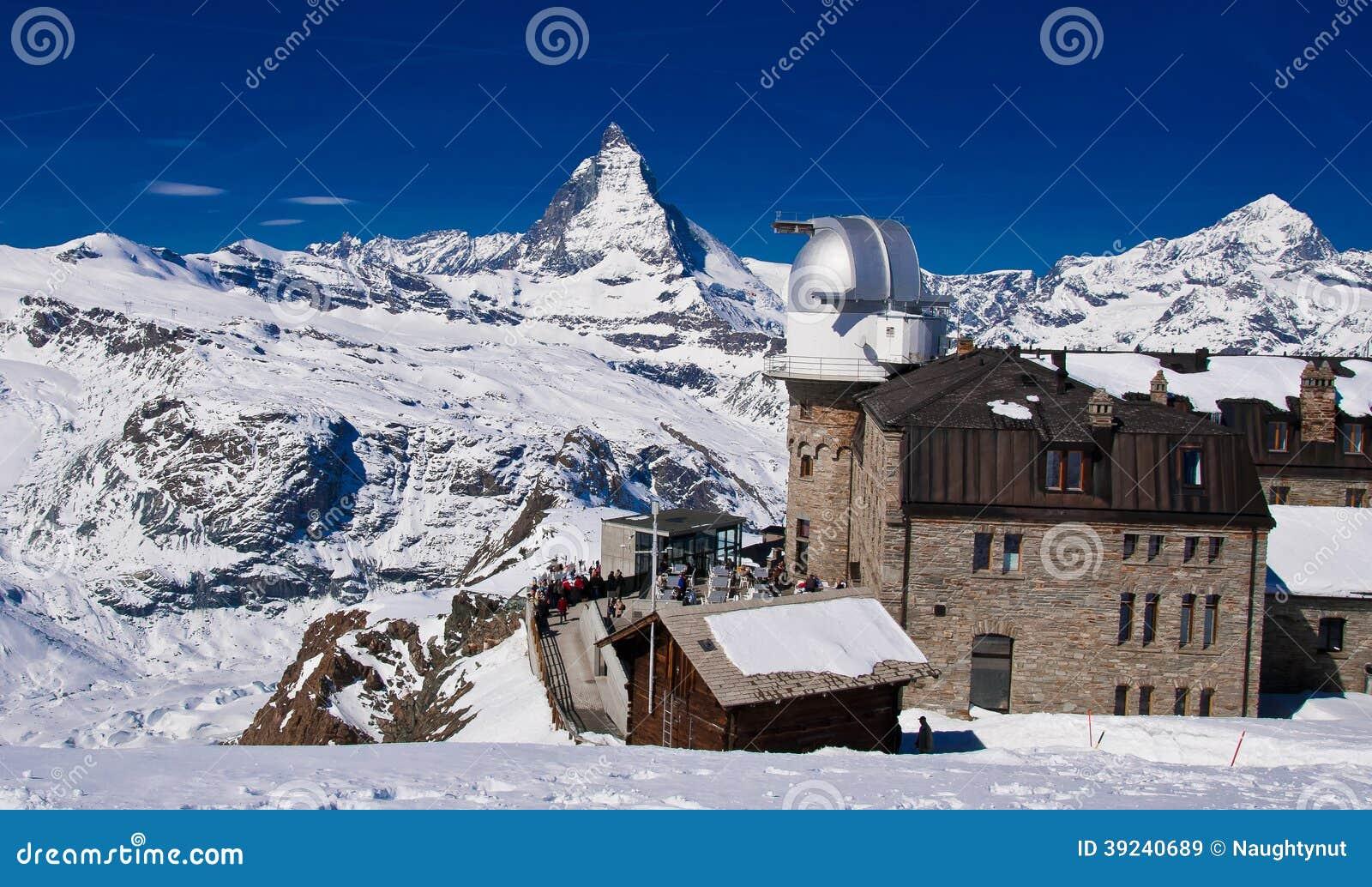 Το παρατηρητήριο Gornergrat και η αιχμή Matterhorn