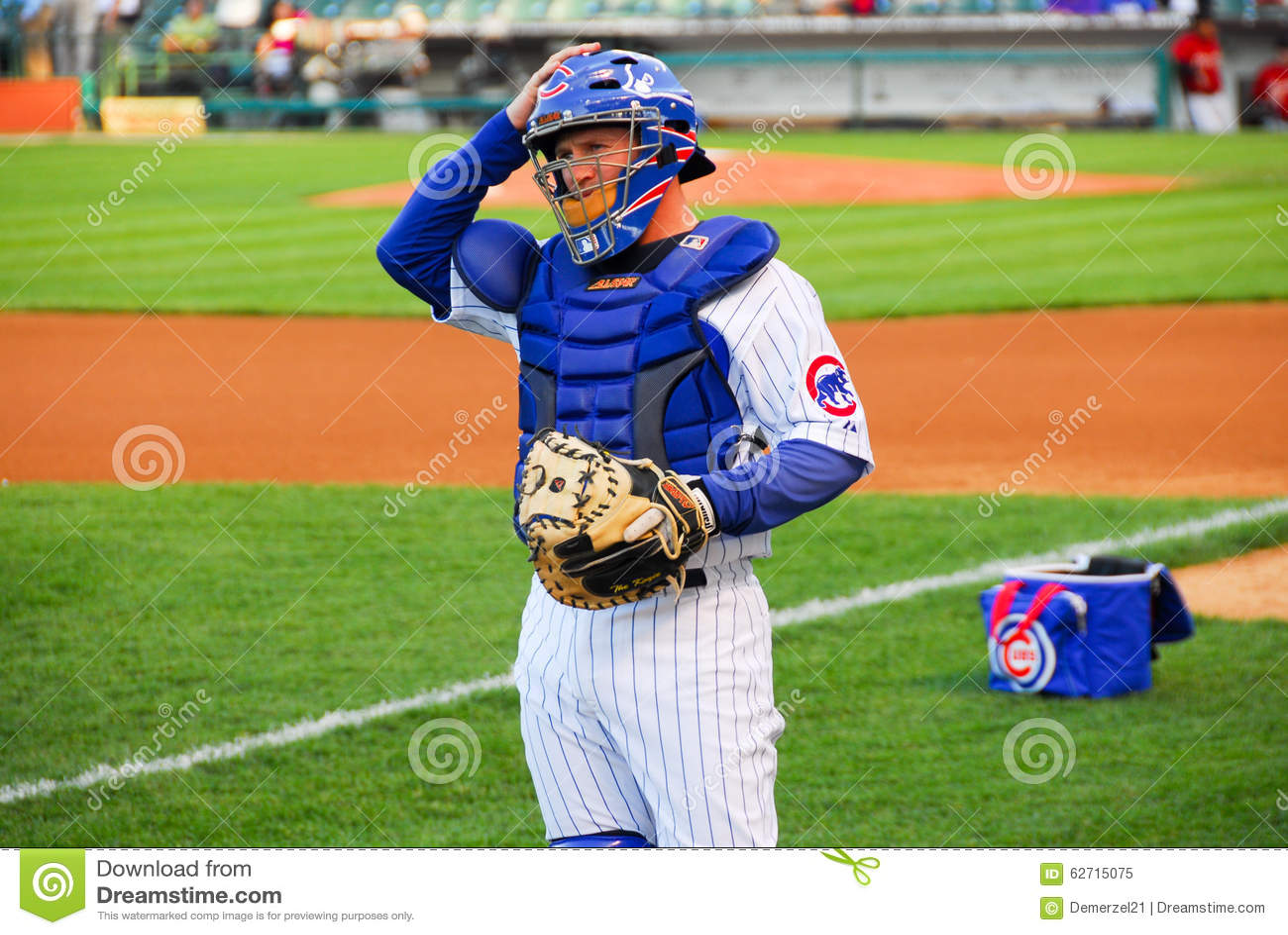 Download το Σικάγο Cubs το πεδίο Wrigley Εκδοτική εικόνα - εικόνα από catcher, ξάδελφος: 62715075