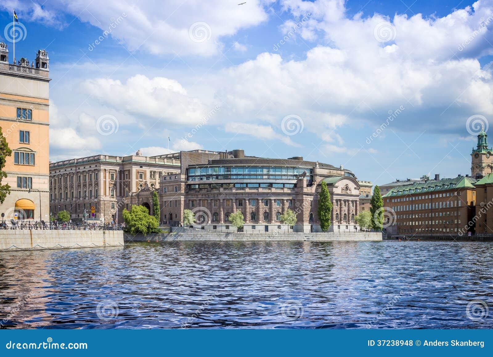 Το σουηδικό Κοινοβούλιο, Στοκχόλμη