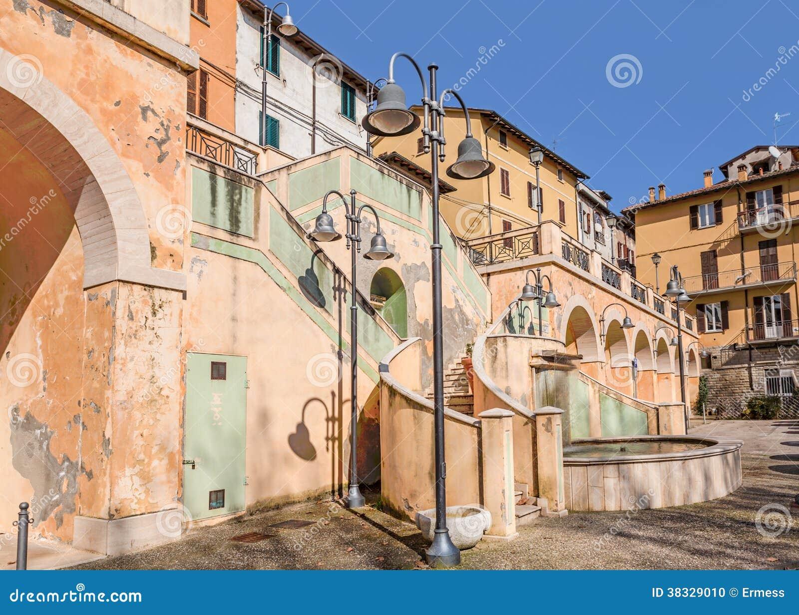 Το τετράγωνο Castrocaro Terme, Ιταλία