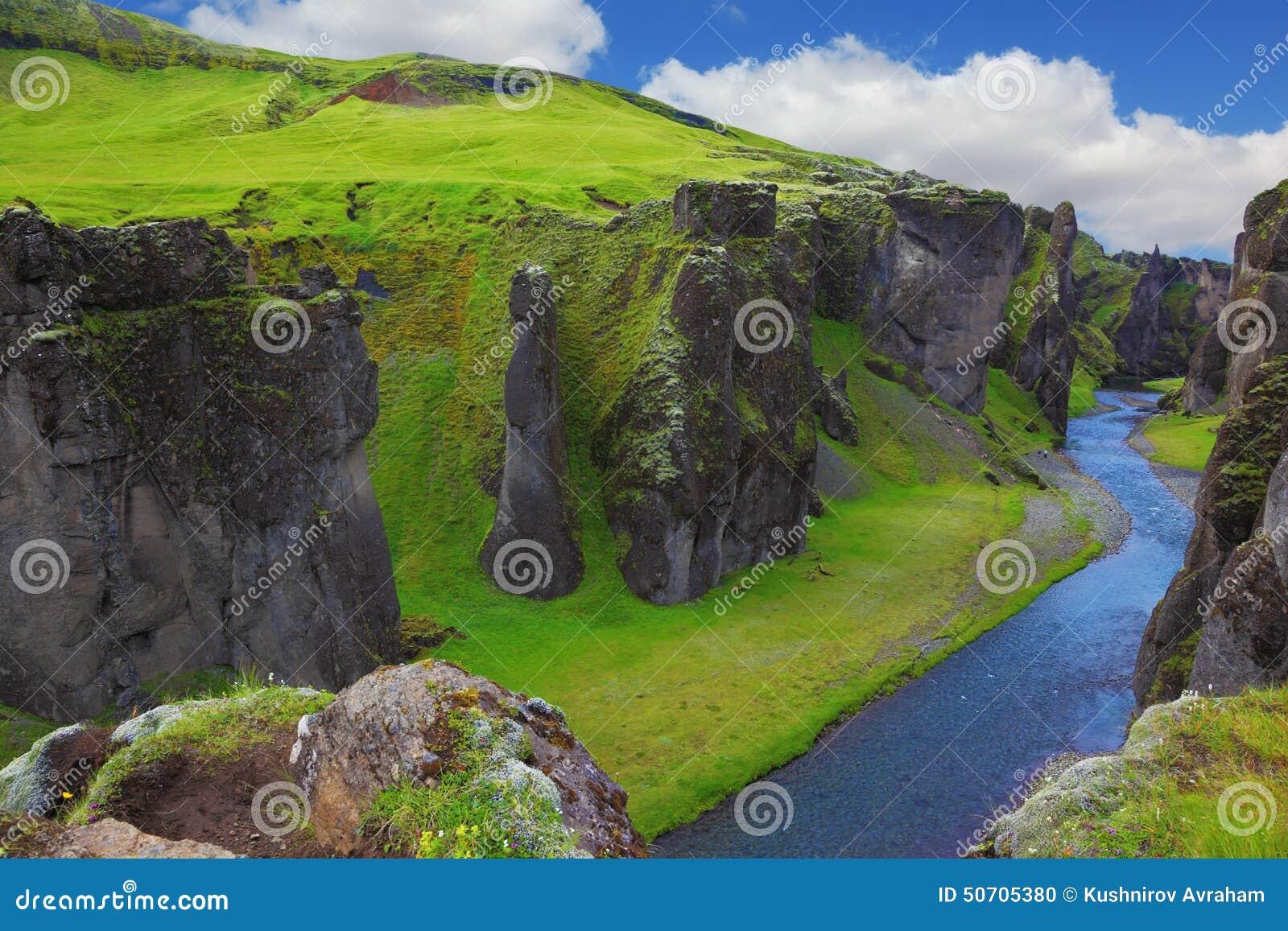 Το φαράγγι Fjadrargljufur