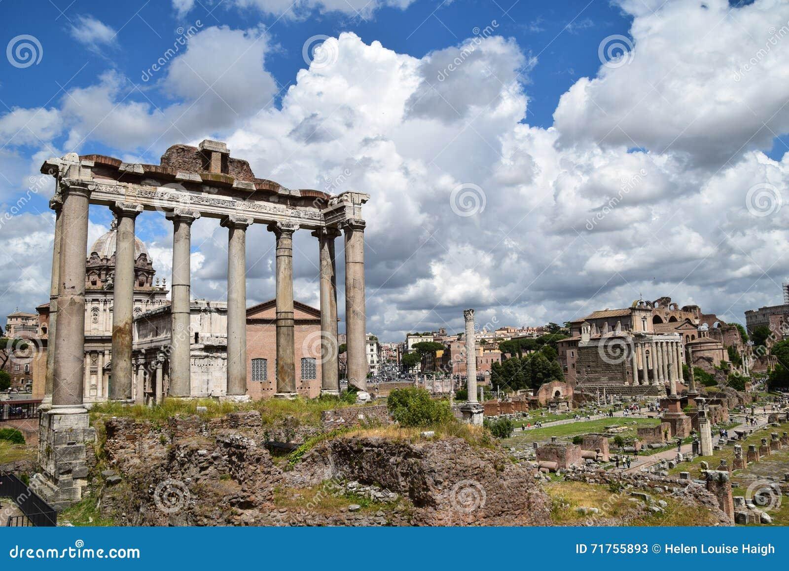 Το φόρουμ, Ρώμη, Ιταλία