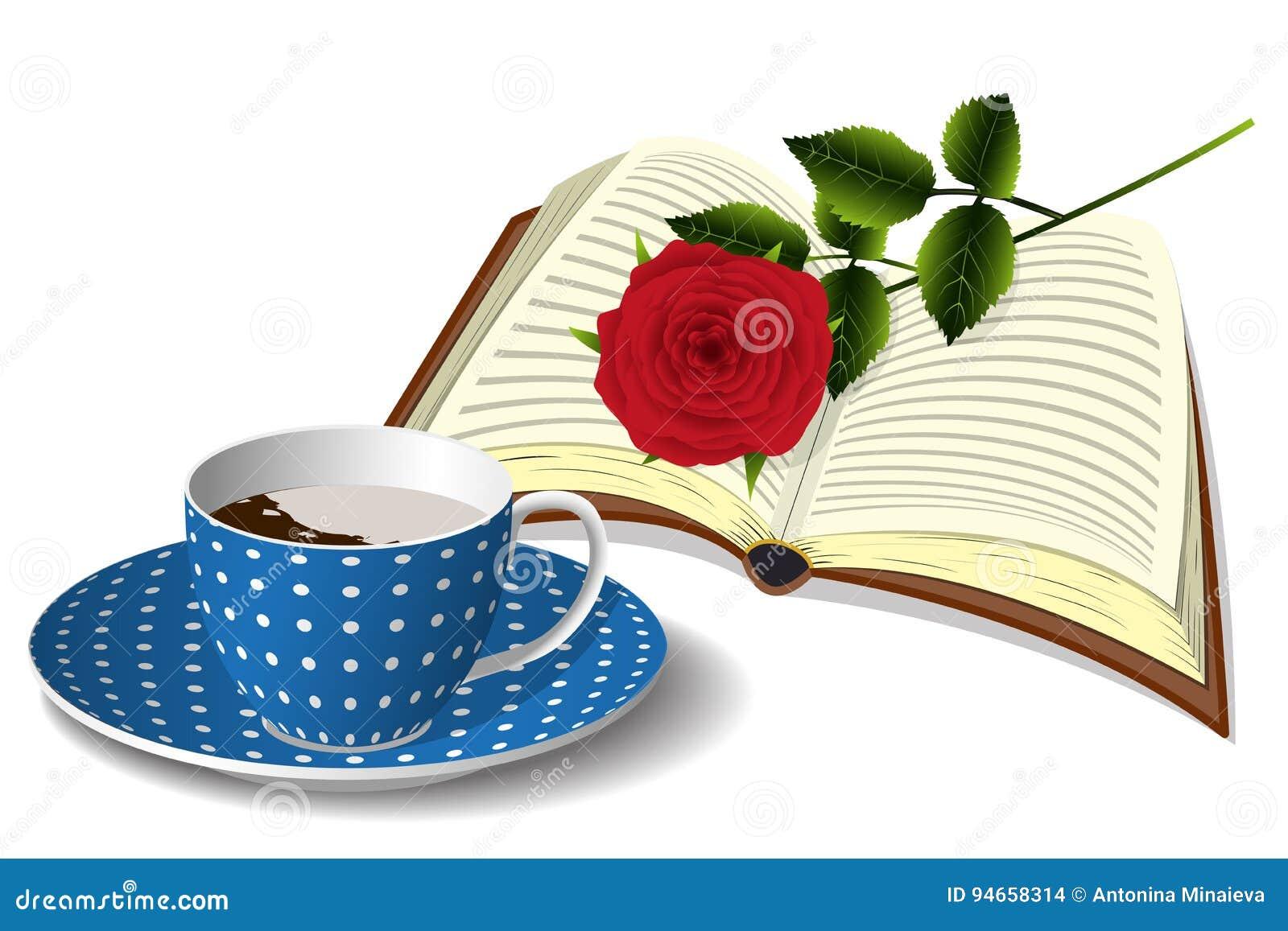 Το φλιτζάνι του καφέ, βιβλίο και αυξήθηκε