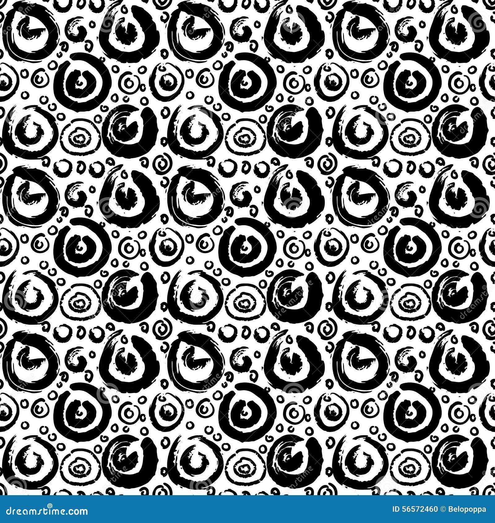 Download Το χέρι που σύρθηκε σχέδιο χρωμάτισε το άνευ ραφής Διανυσματική απεικόνιση - εικονογραφία από seamless, χρωματισμένος: 56572460