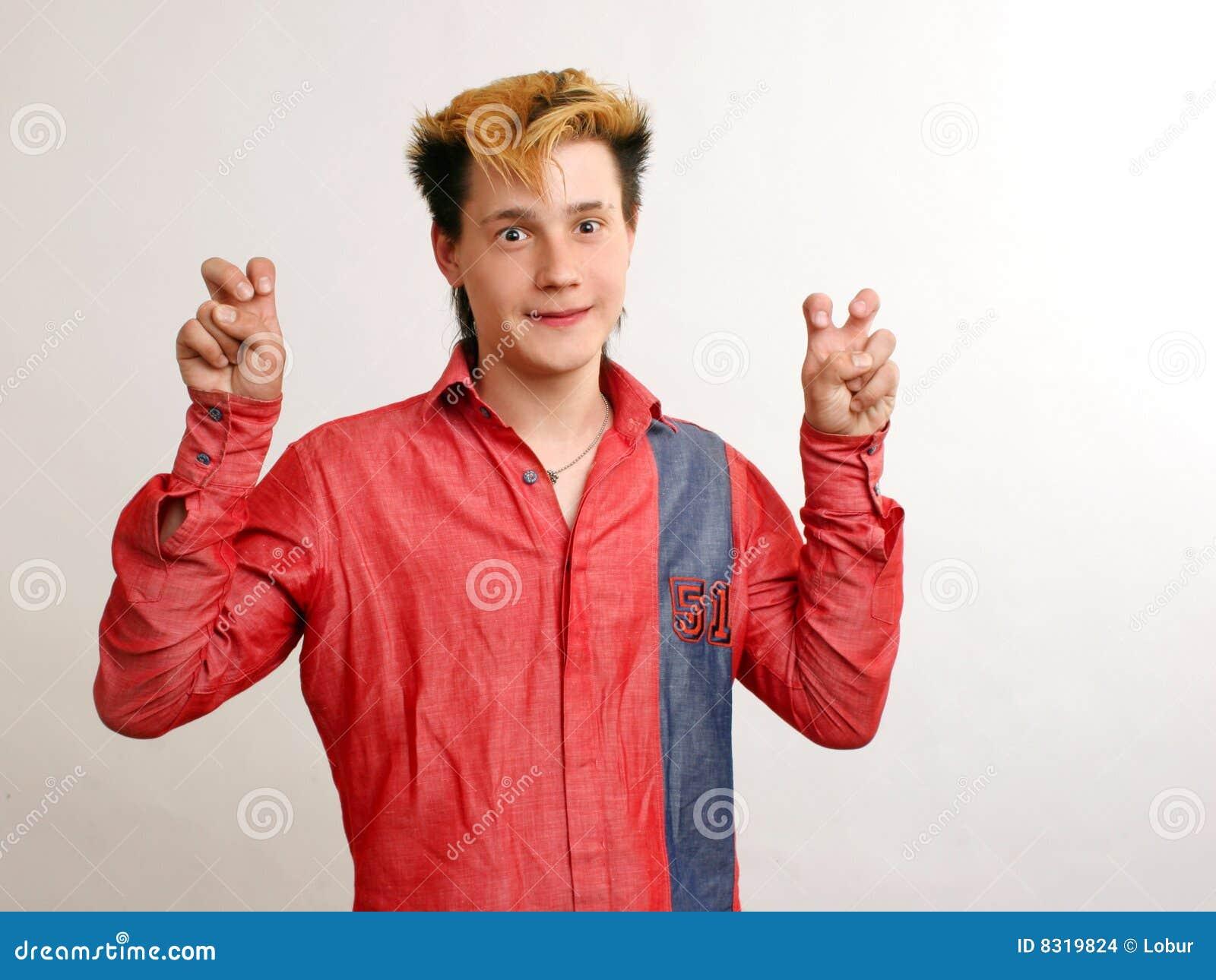 το χρυσό κόκκινο τύπων hairstyle