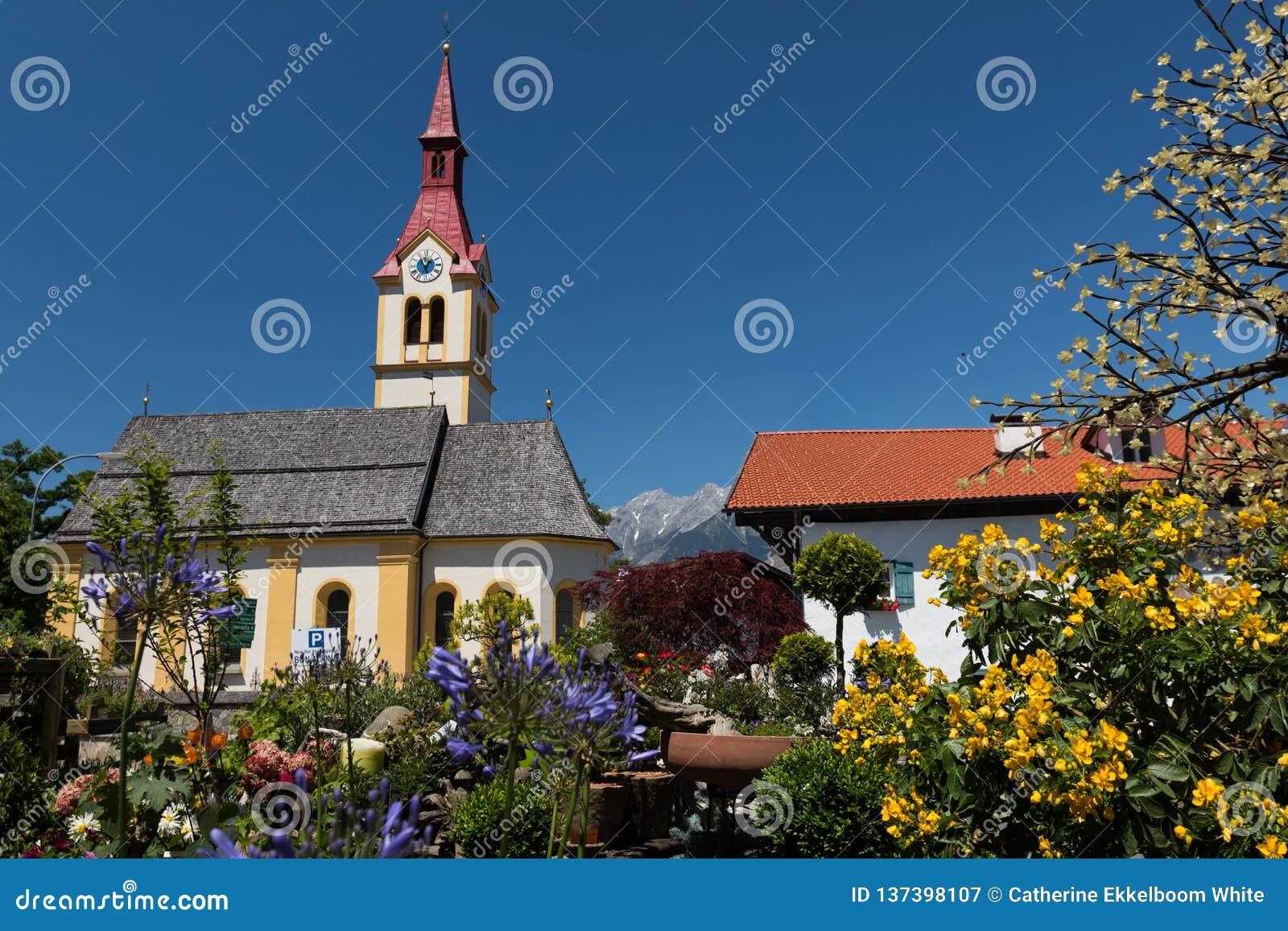 Το χωριό Igls κοντά στο Ίνσμπρουκ, Αυστρία