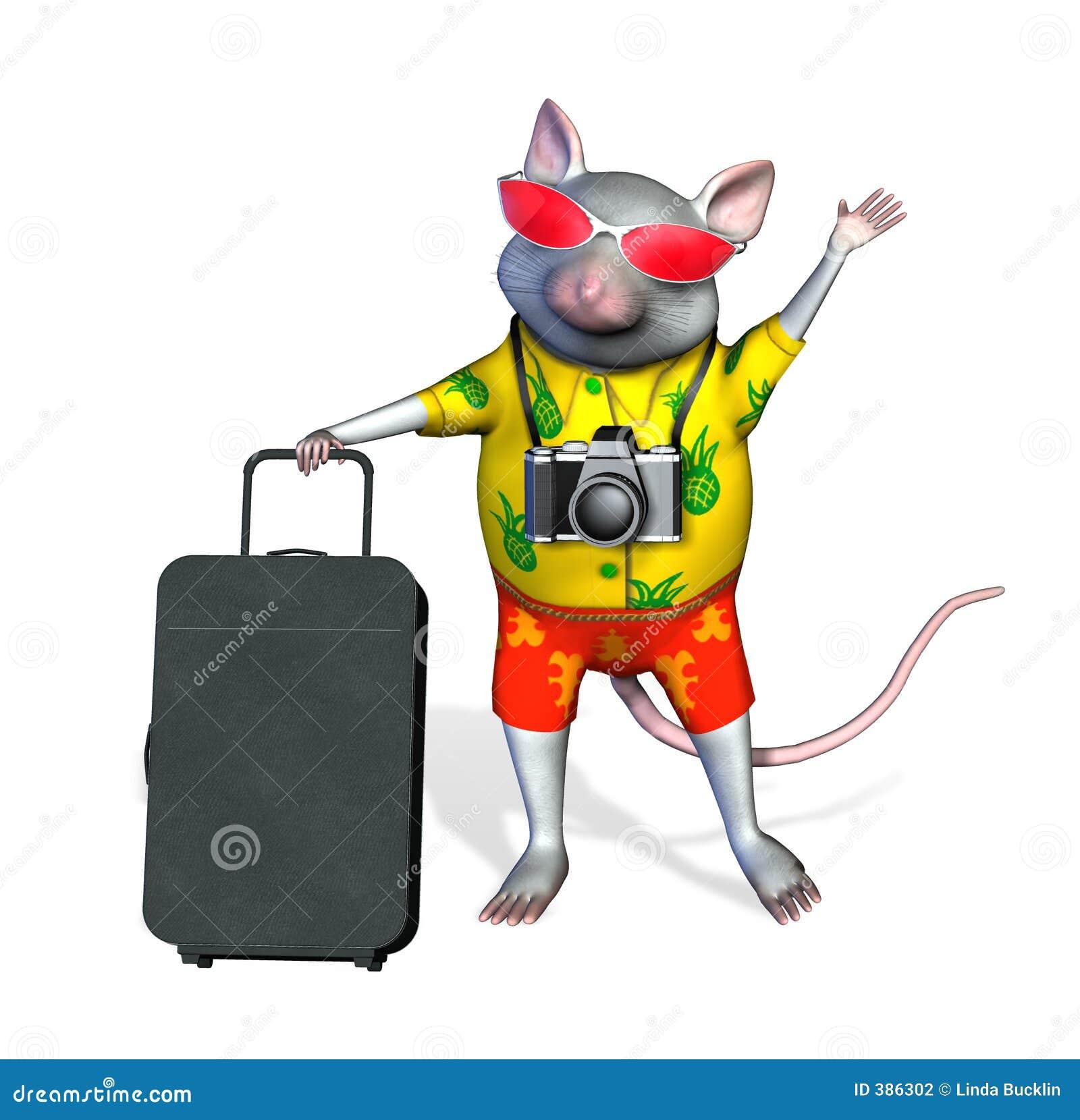 το ψαλίδισμα περιλαμβάνει τον τουρίστα μονοπατιών ποντικιών