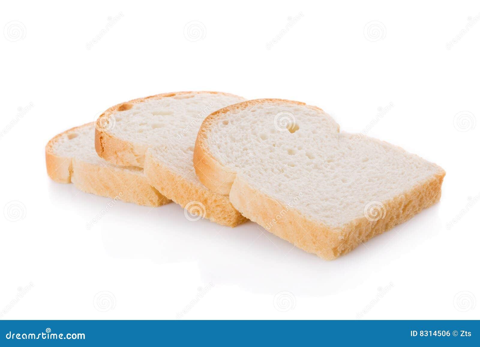 το ψωμί τεμαχίζει τρία