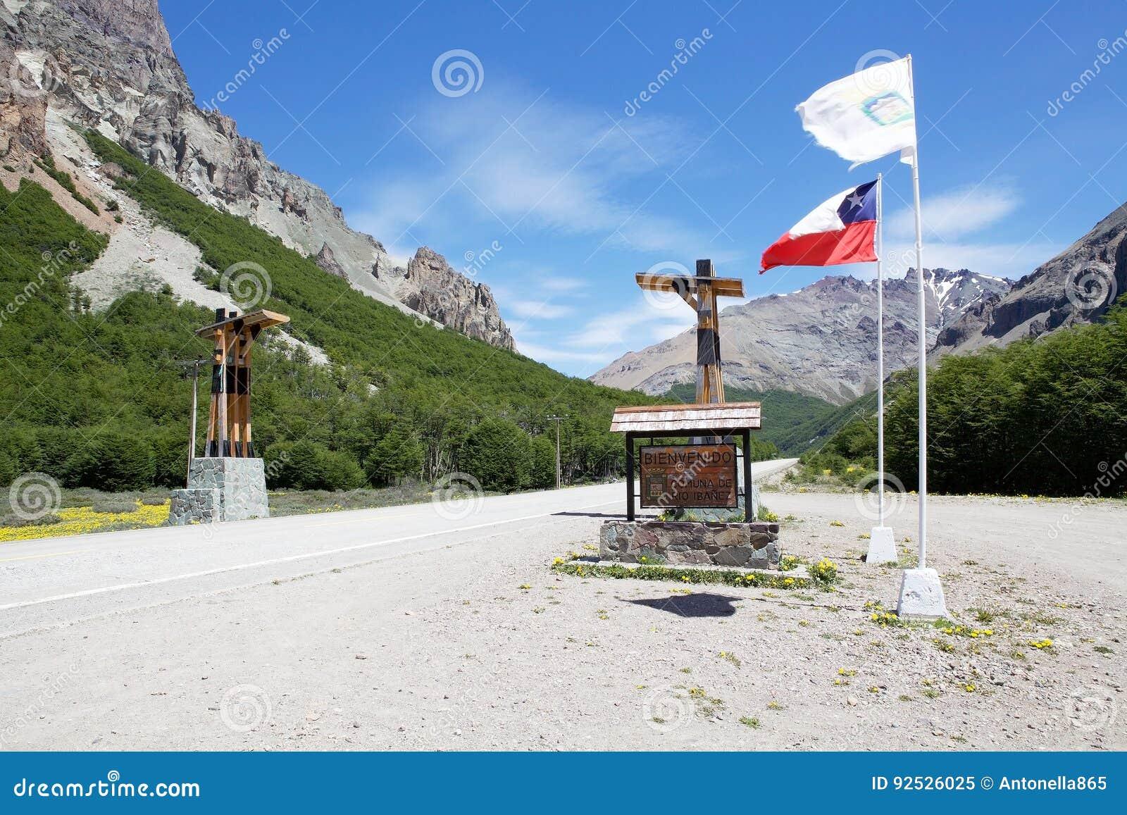 Το Carretera νότιο, Χιλή