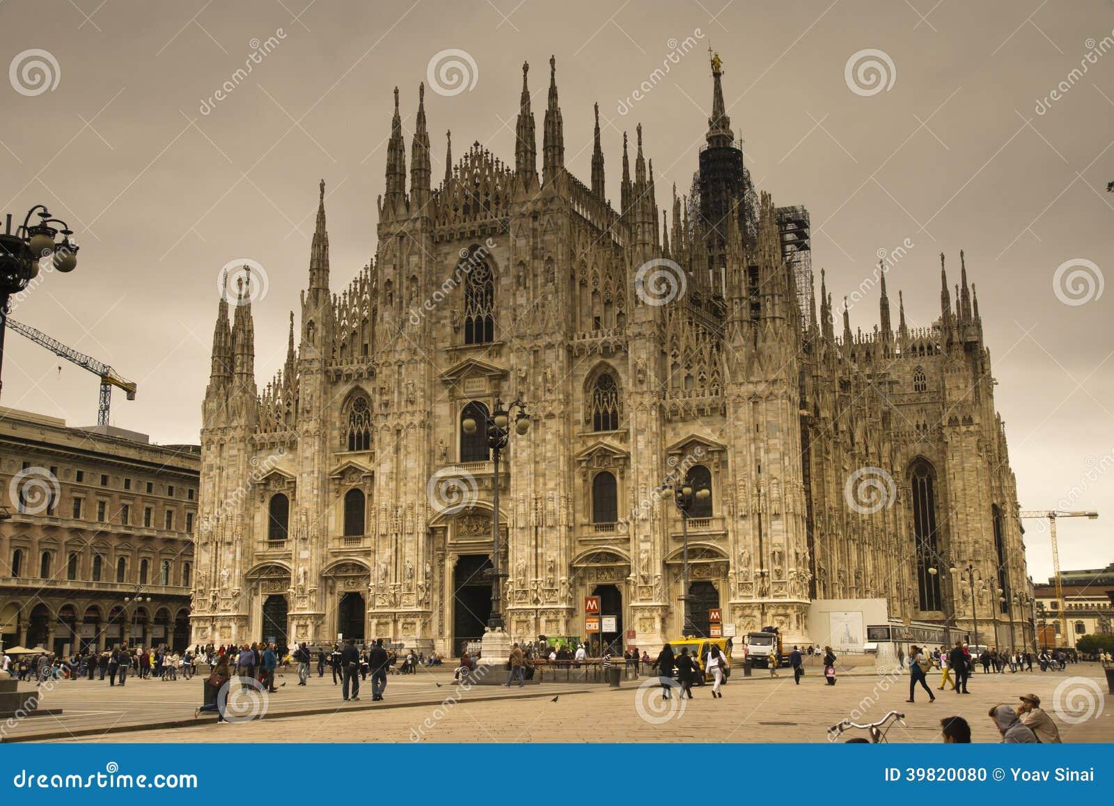 Το Duomo Cathdral Μιλάνο Ιταλία
