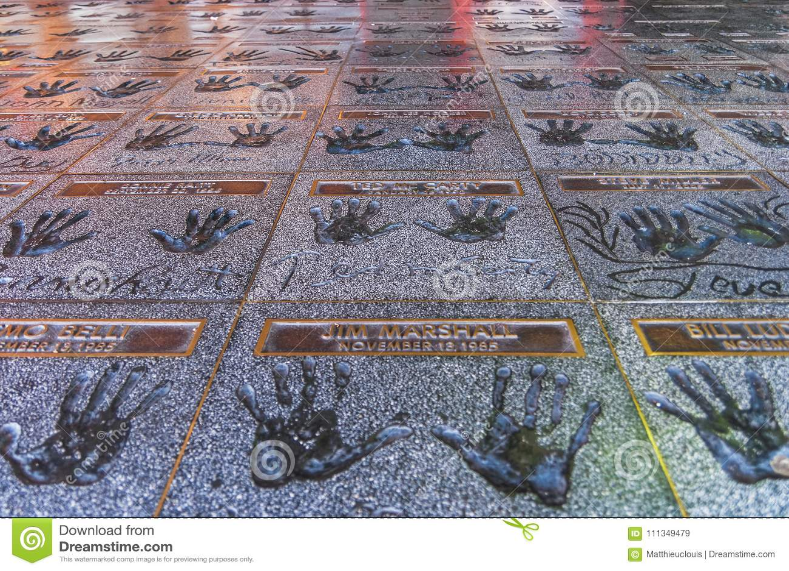 Το Hollywood Rockwalk