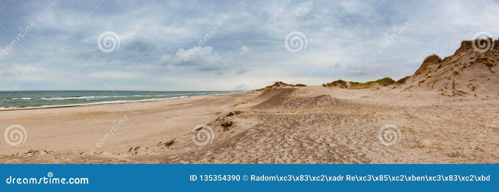 Το Hvide Sande είναι η επιτομή των παραλιών Δυτική Γιουτλάνδη, Δανία