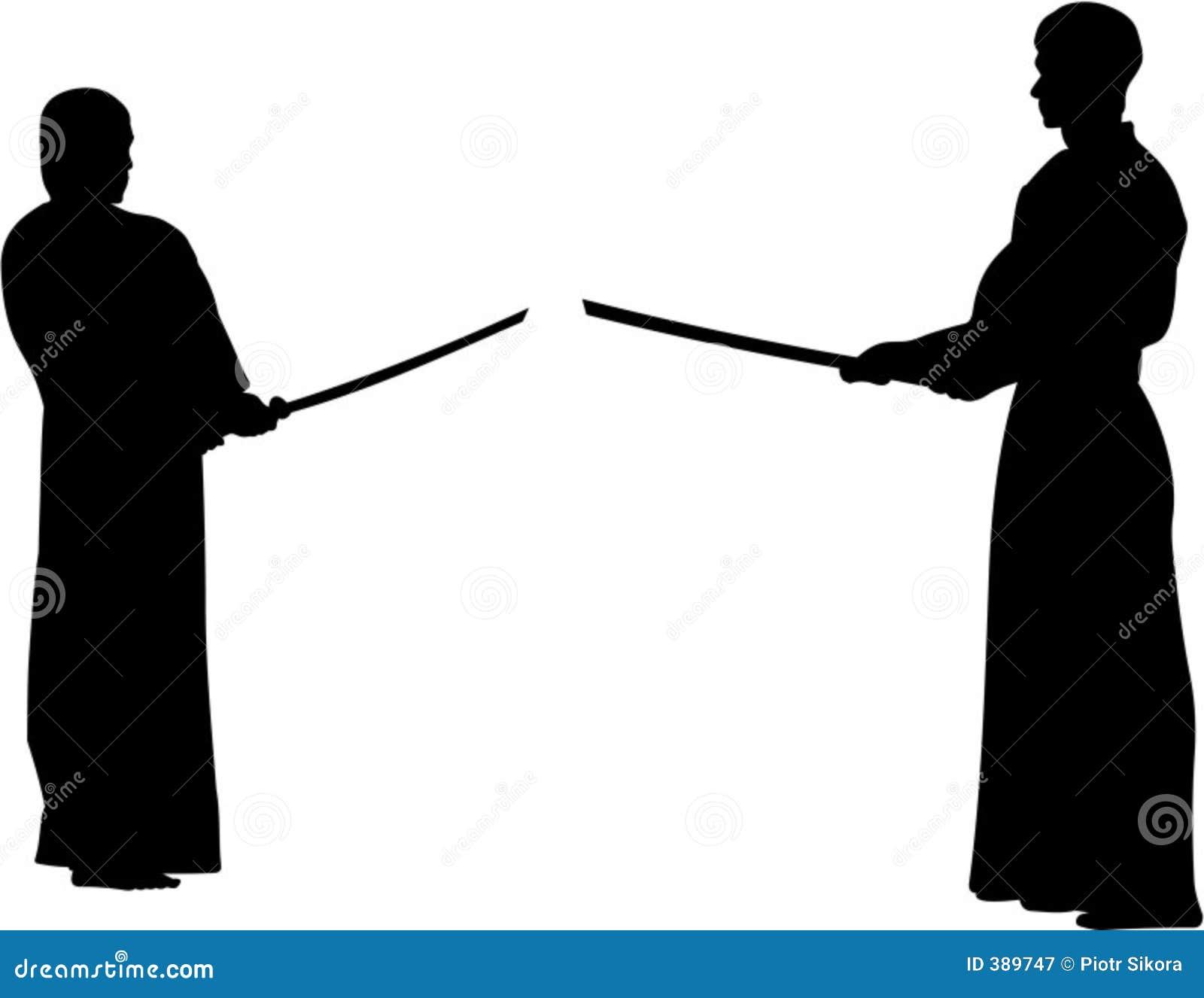 το kendo πάλης προετοιμάζει τ&et