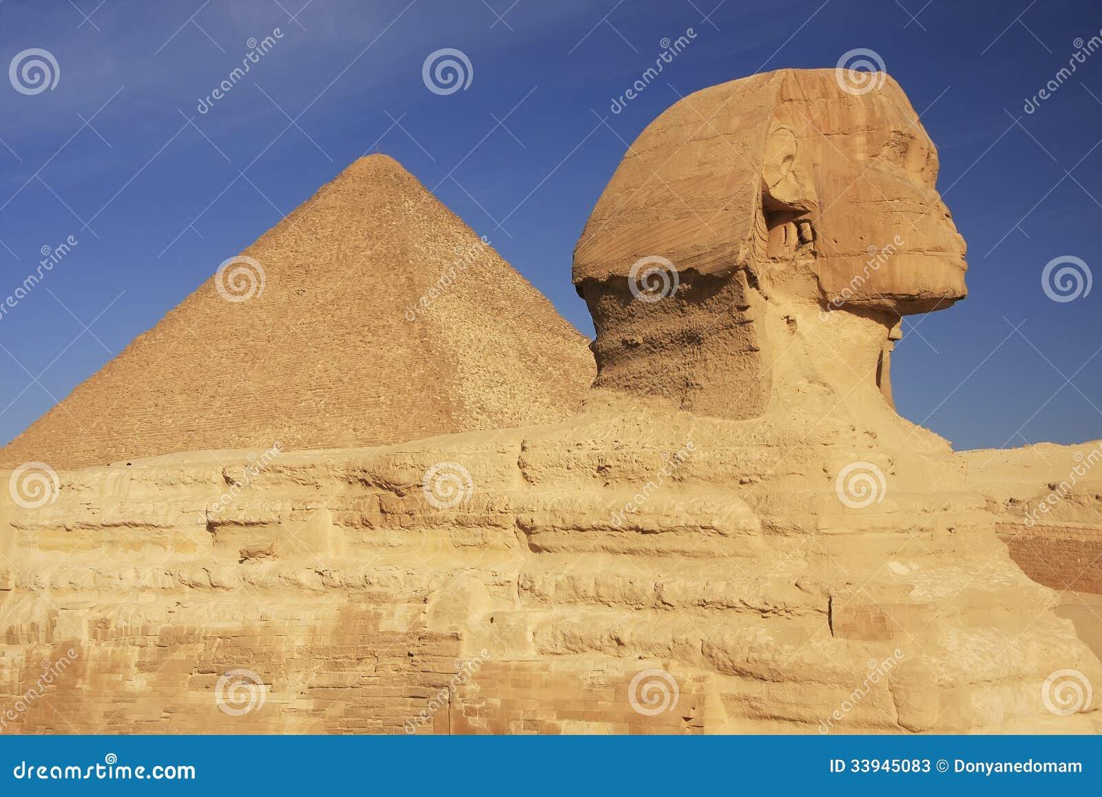 Το Sphinx και η μεγάλη πυραμίδα Khufu, Κάιρο