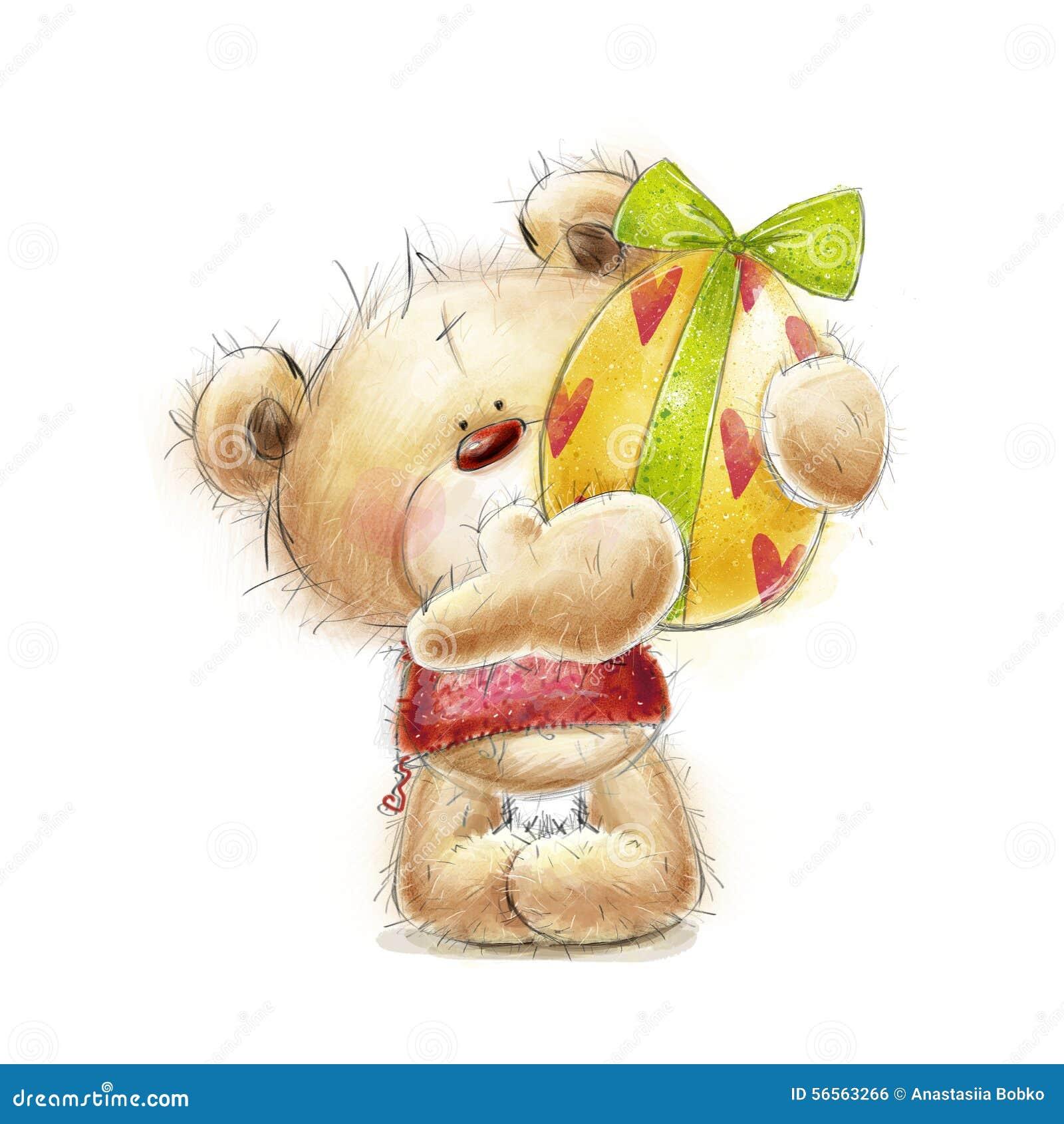Download Το Teddy αντέχει με το αυγό Πάσχας Κάρτα με την αρκούδα και το αυγό Πάσχας Πάσχα ευτυχές Συρμένος χέρι Teddy αφορά απομονωμένος τ Απεικόνιση αποθεμάτων - εικονογραφία από καλός, κάρτα: 56563266