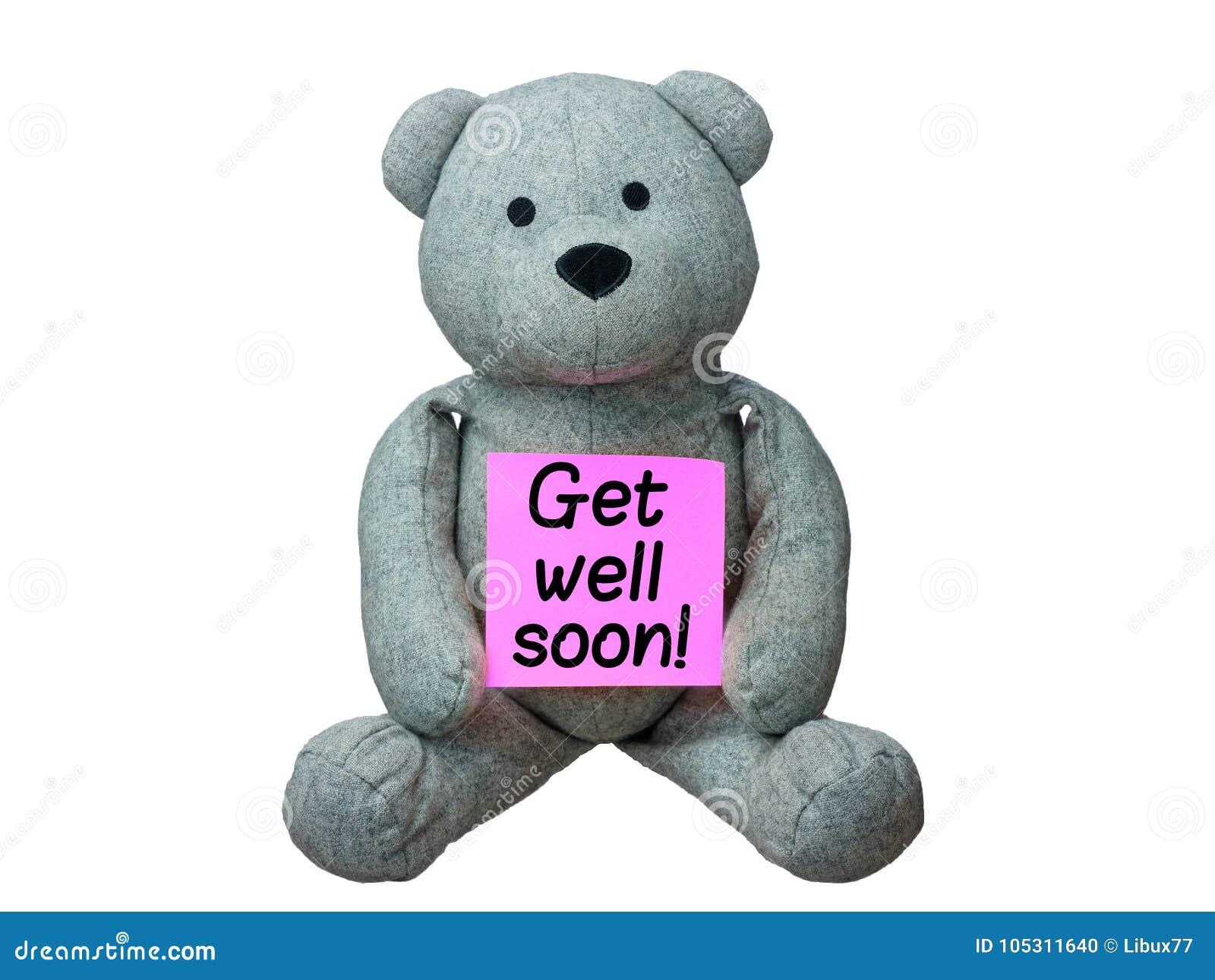 Το Teddy αντέχει παίρνει καλά σύντομα απομονωμένο