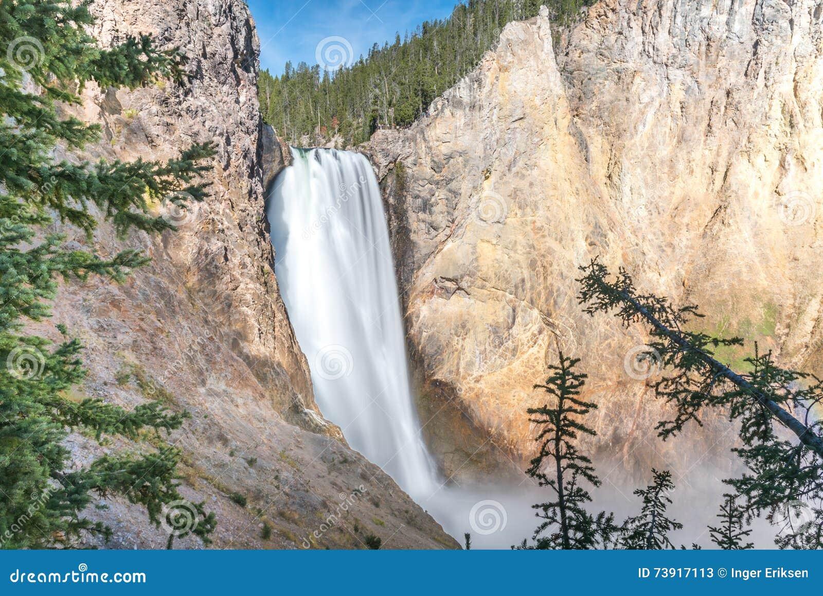 Το Yellowstone χαμηλώνει τις πτώσεις