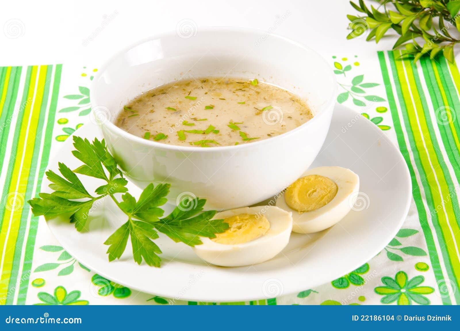 Το Zurek είναι μια πολωνική σούπα