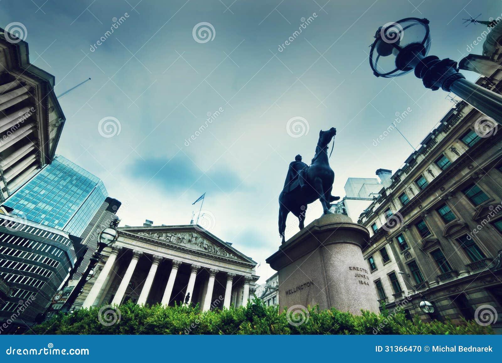 Τράπεζα της Αγγλίας, η βασιλική ανταλλαγή. Λονδίνο, το UK