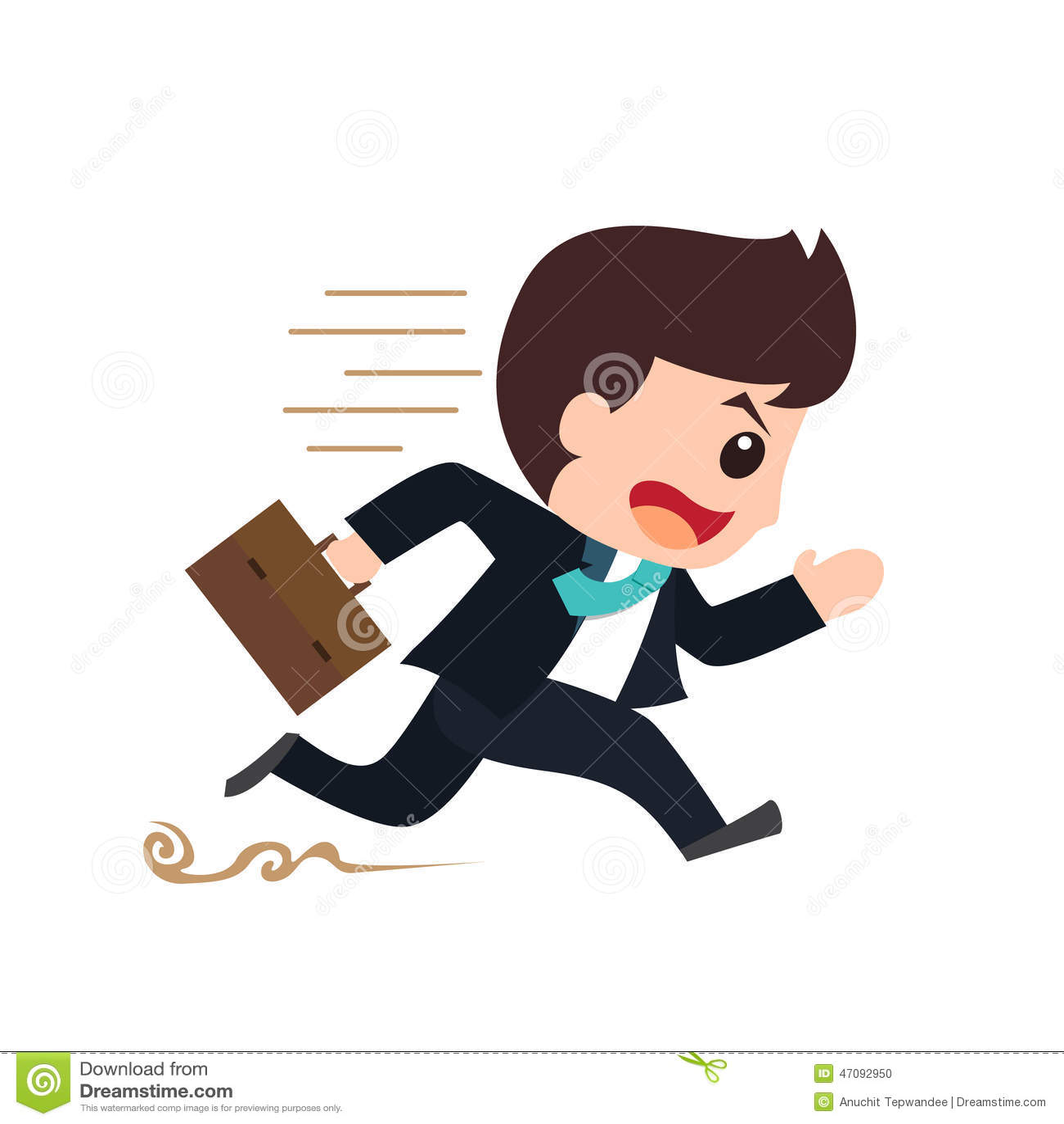 Τρέχοντας κινούμενα σχέδια υποχρέωσης επιχειρηματιών