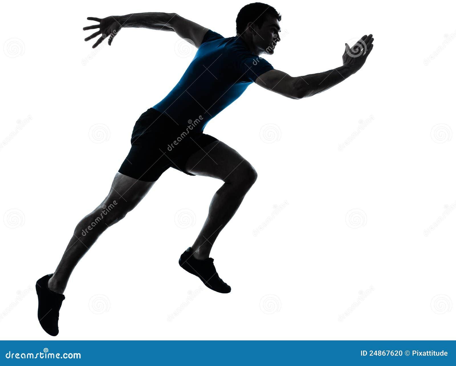 τρέχοντας sprinter να τρέξει γρήγορα δρομέων ατόμων