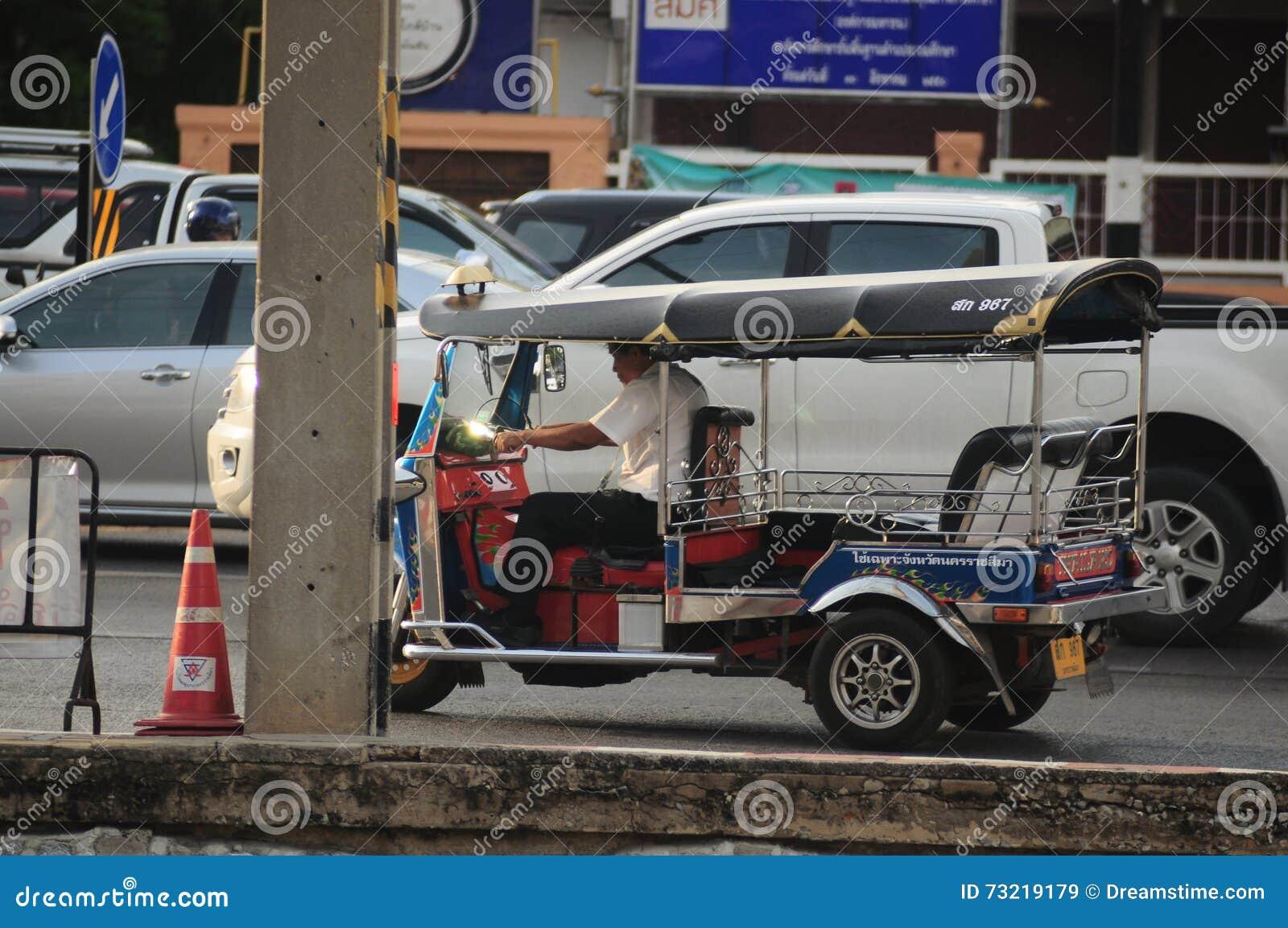 Τρίκυκλο Tuk Ταϊλάνδη Tuk