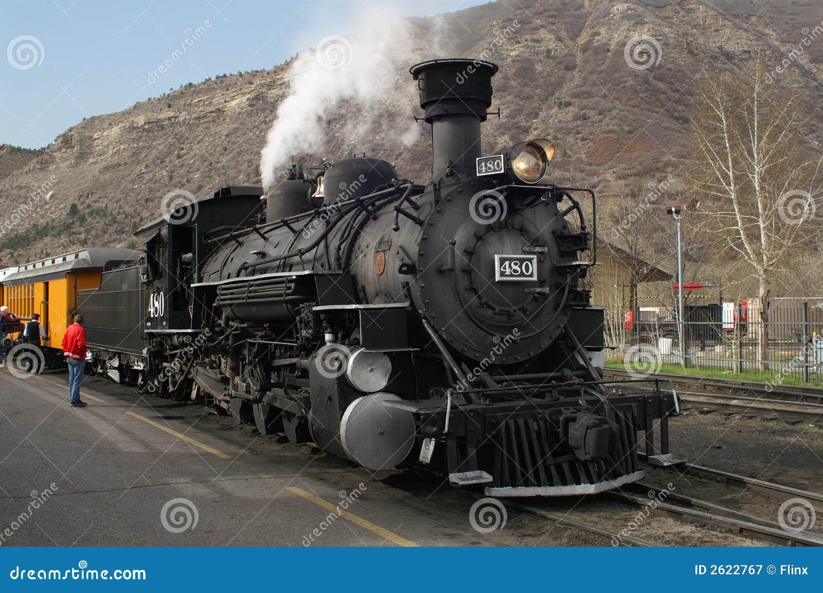 τραίνο ατμού