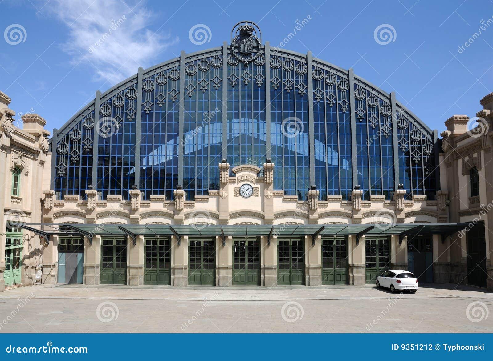 τραίνο σταθμών της Βαρκελώ