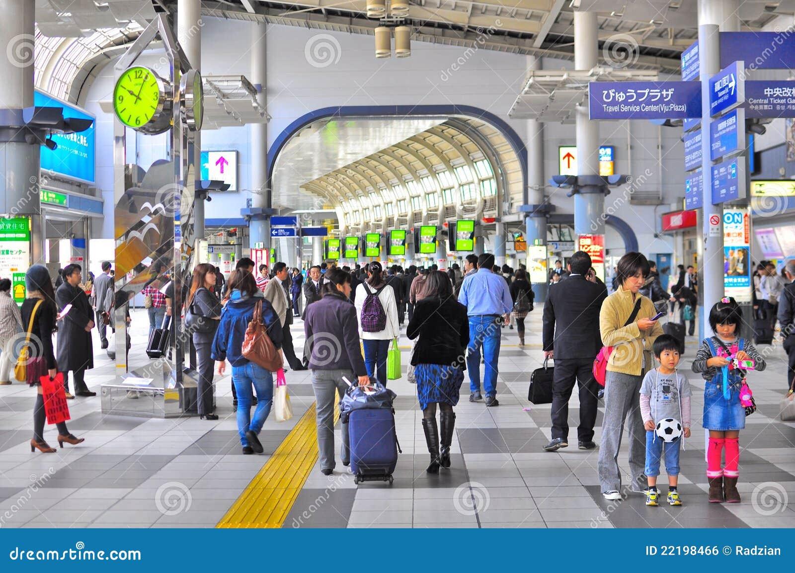 τραίνο του Τόκιο σταθμών shinagawa