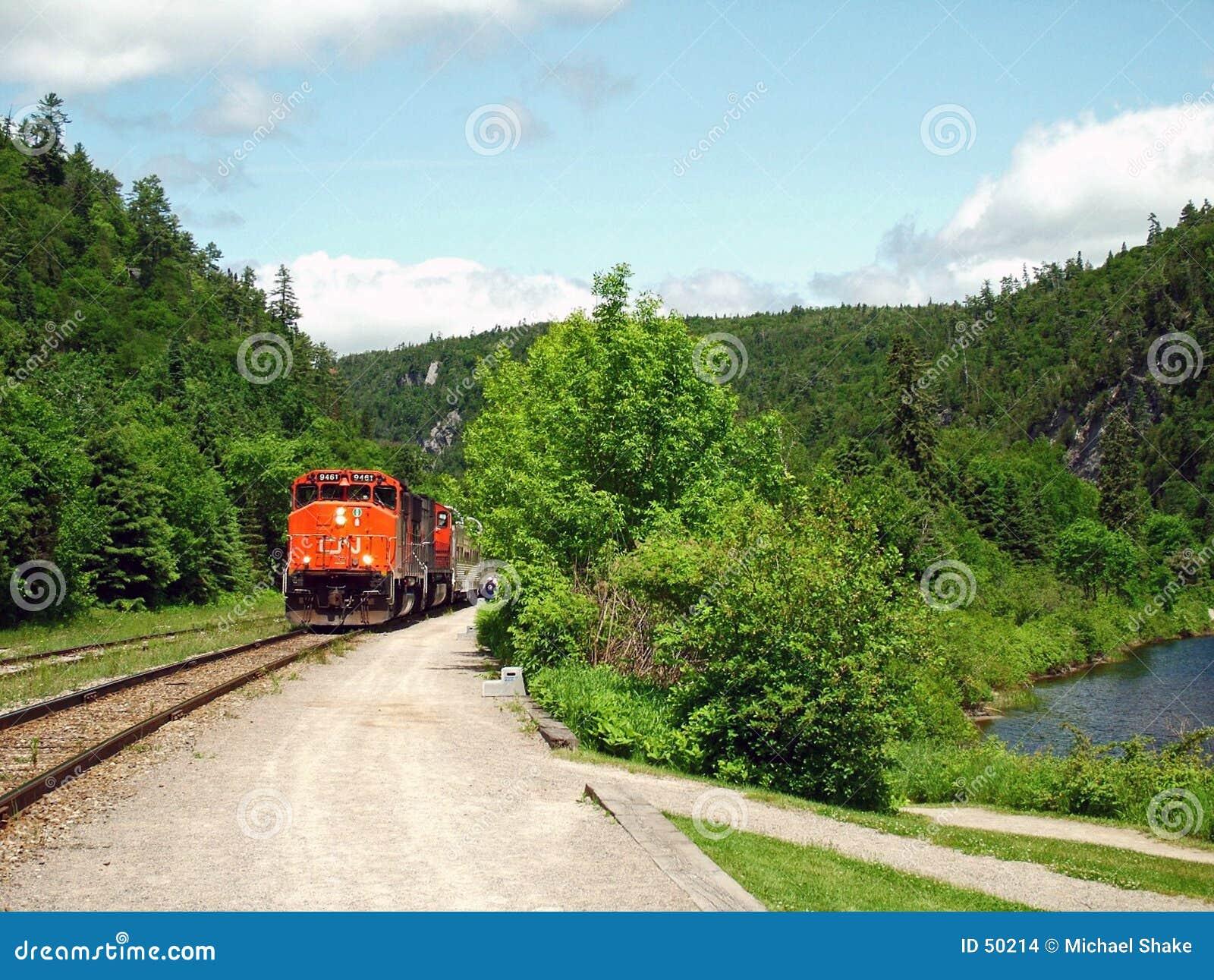 τραίνο φαραγγιών agawa