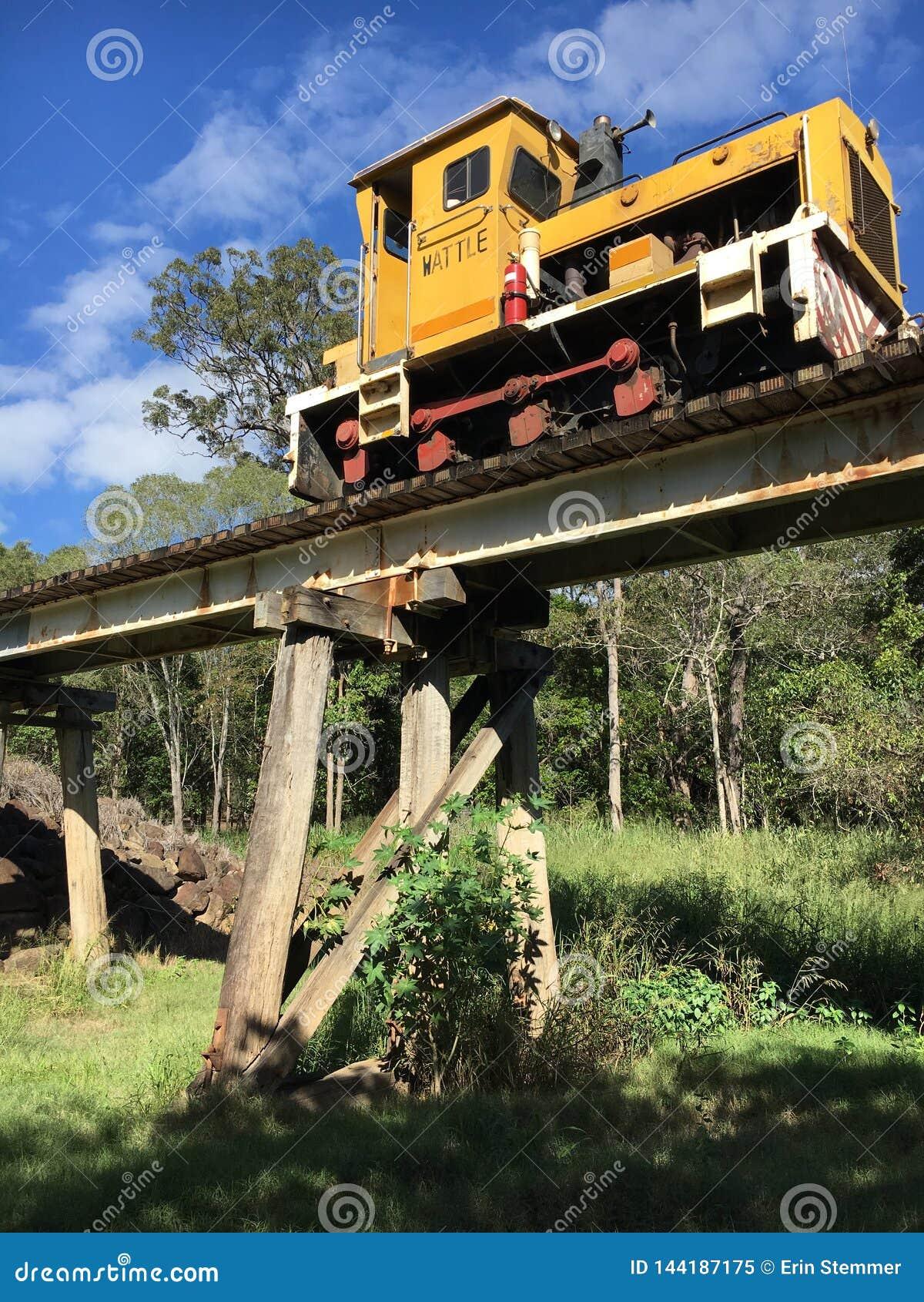 Τραίνο Bundaburg Queensland καλάμων