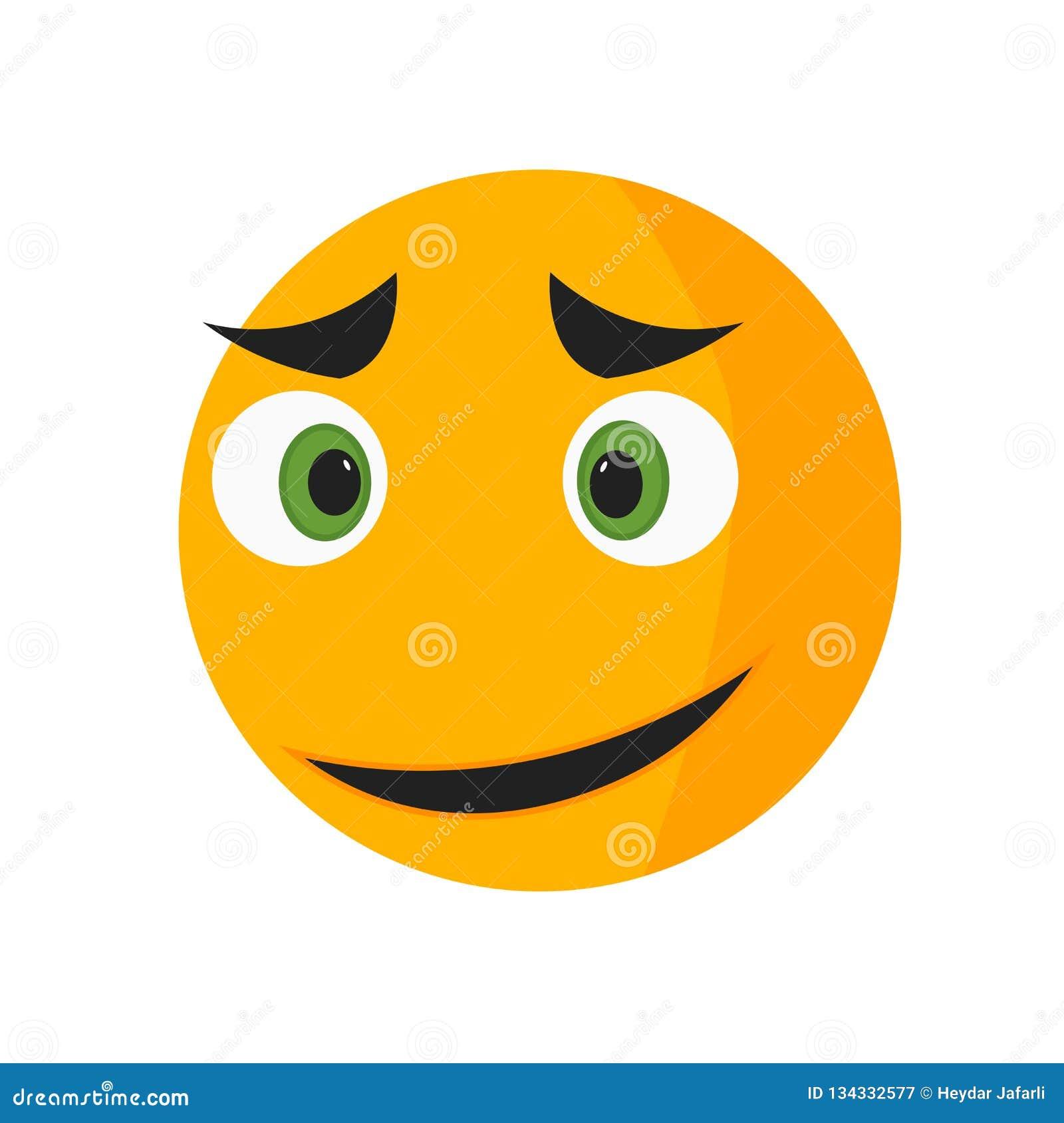 Τραγουδώντας εικονίδιο χαμόγελου διανυσματικά σημάδι και σύμβολο που απομονώνονται στο άσπρο υπόβαθρο, έννοια λογότυπων χαμόγελου